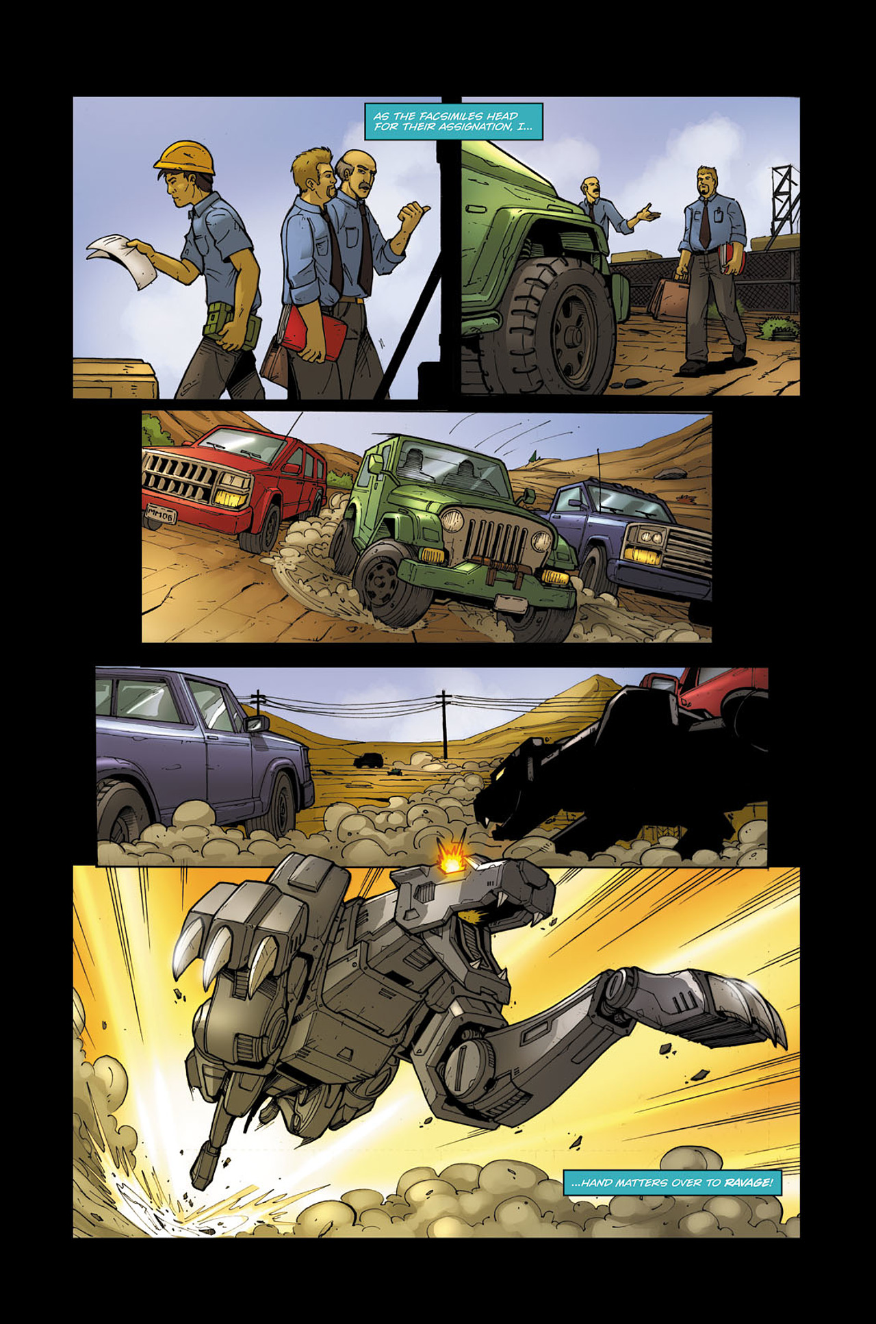 Read online Transformers Spotlight: Soundwave comic -  Issue # Full - 9