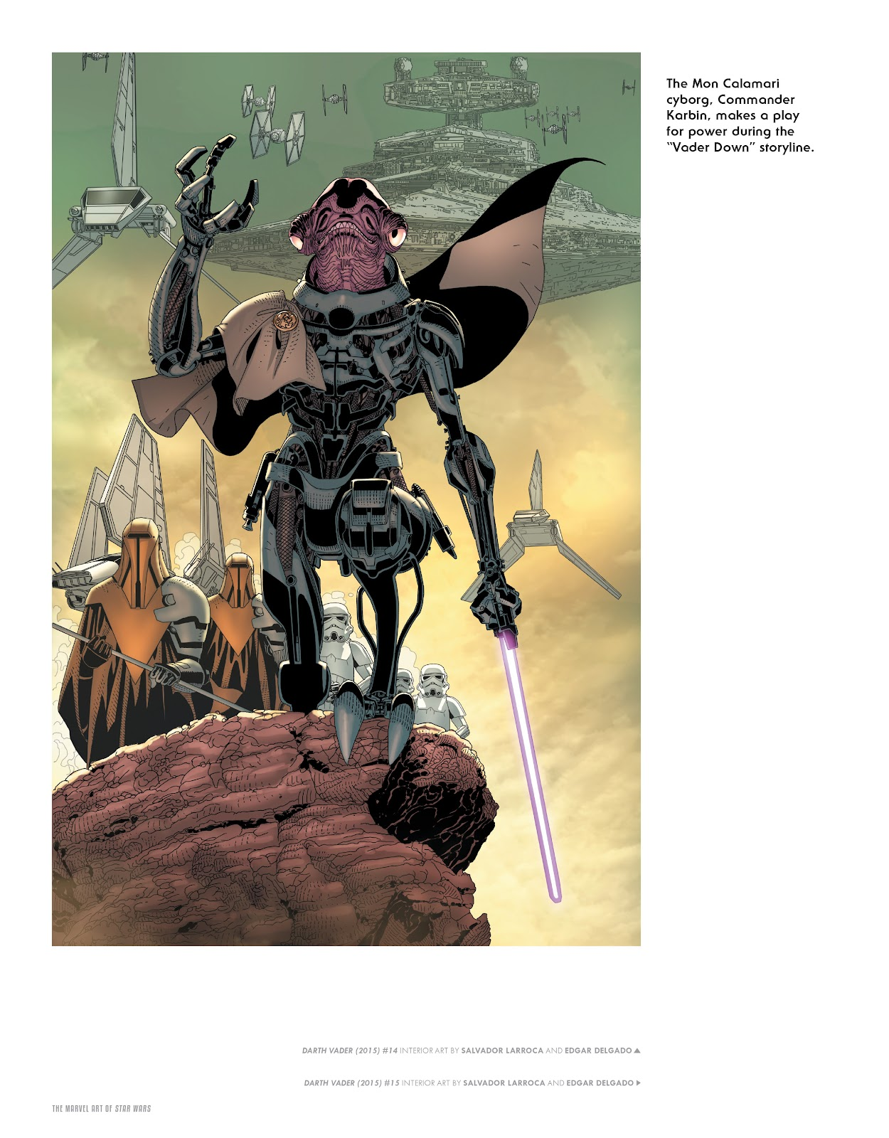 Read online The Marvel Art of Star Wars comic -  Issue # TPB (Part 1) - 76