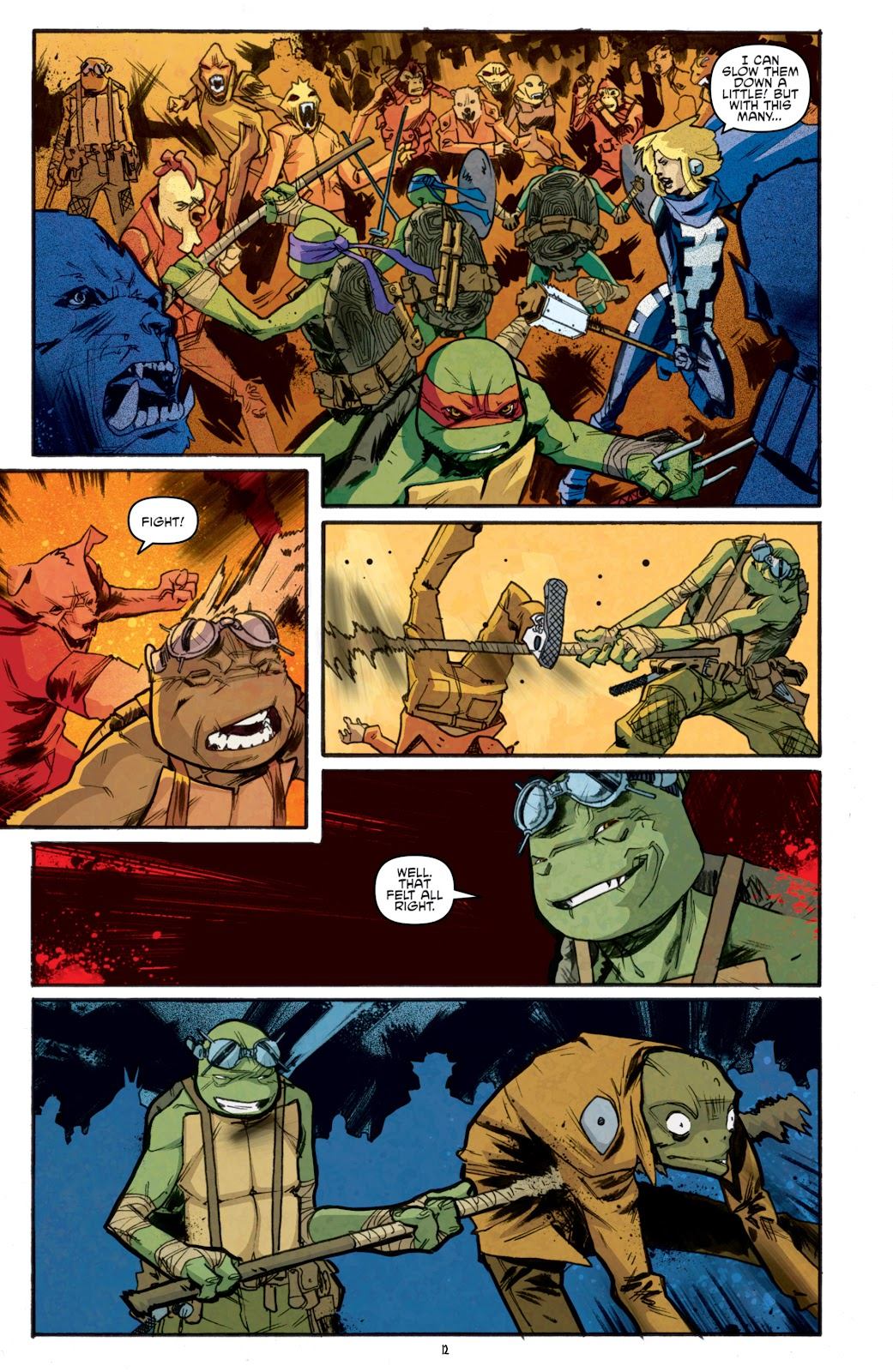 Read online Teenage Mutant Ninja Turtles: The IDW Collection comic -  Issue # TPB 5 (Part 1) - 87