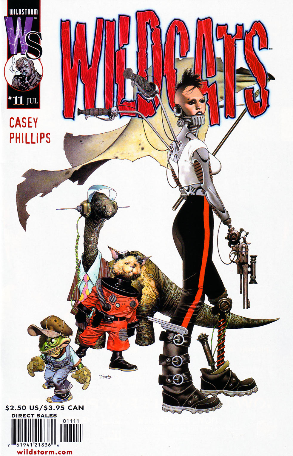 Wildcats (1999) Issue #11 #12 - English 1