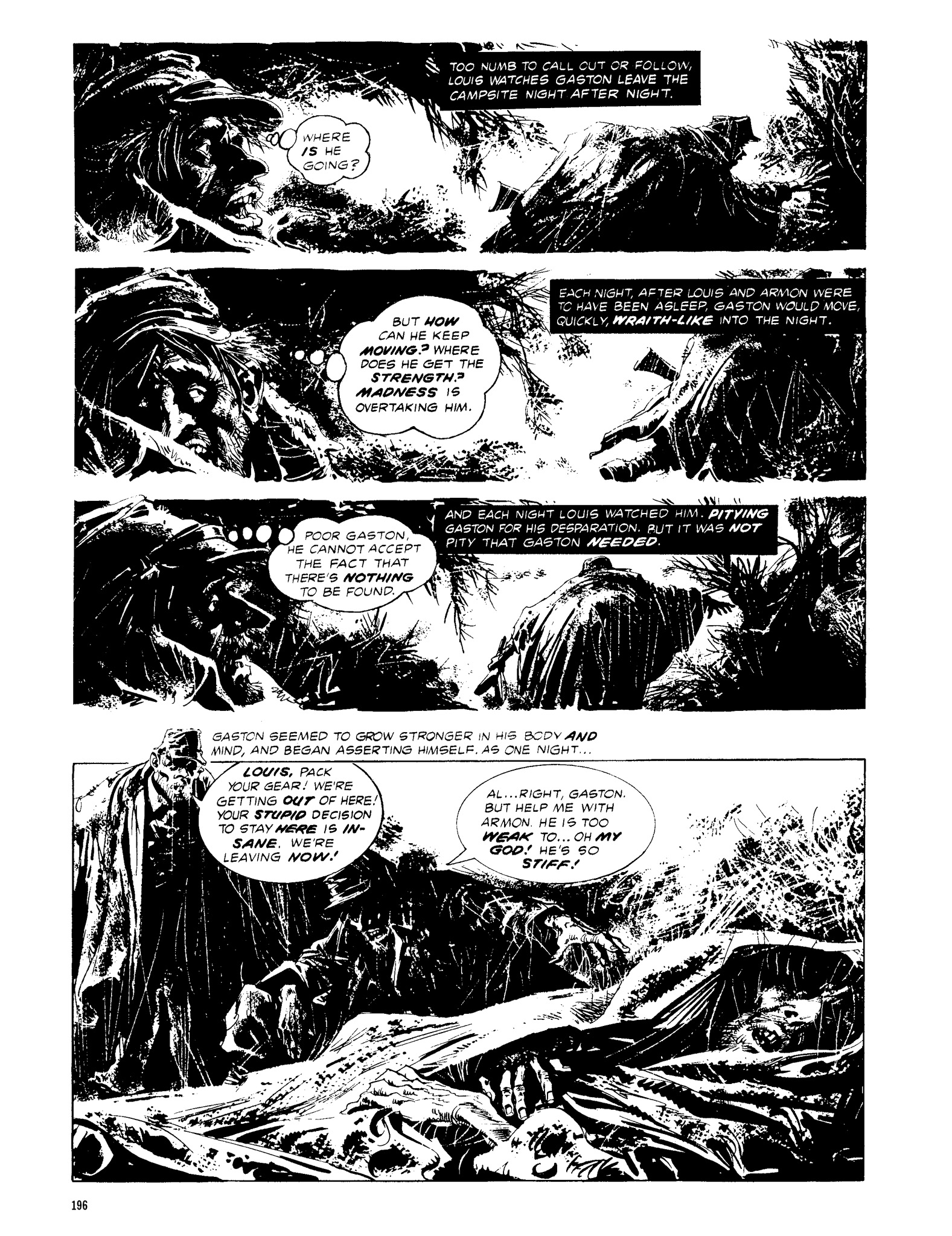 Read online Eerie Archives comic -  Issue # TPB 13 - 197