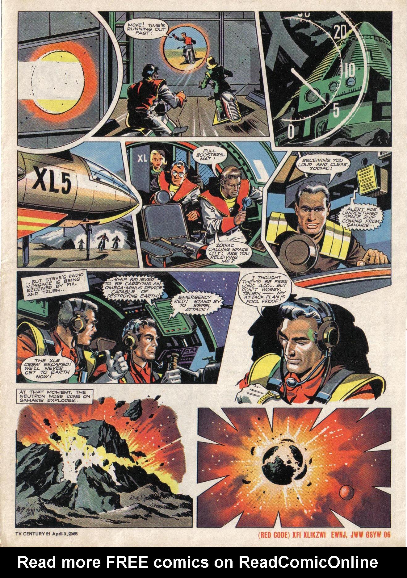 Read online TV Century 21 (TV 21) comic -  Issue #11 - 5
