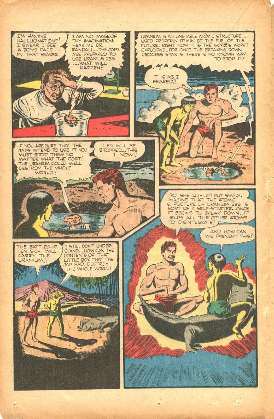 Read online Super-Magician Comics comic -  Issue #35 - 28