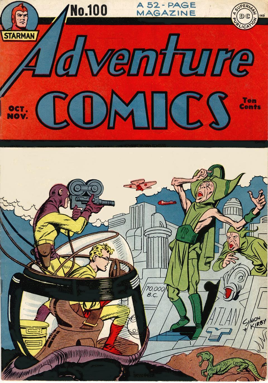 Read online Adventure Comics (1938) comic -  Issue #100 - 1