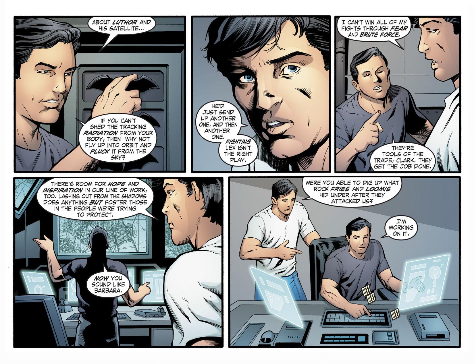 Read online Smallville: Season 11 comic -  Issue #22 - 12