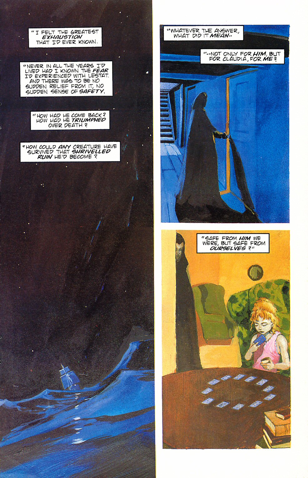 Read online Anne Rice's Interview with the Vampire comic -  Issue #6 - 12