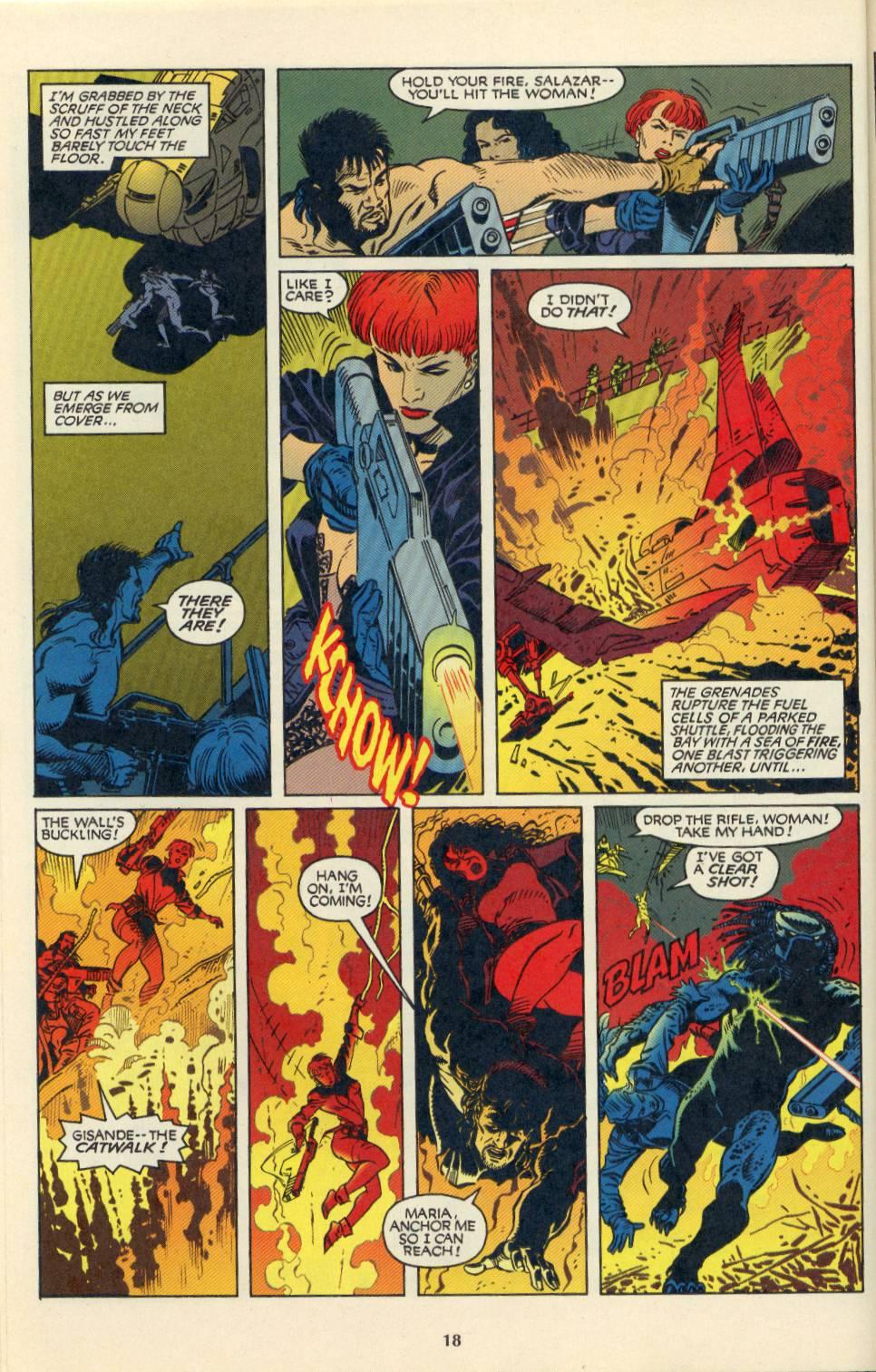 Read online Aliens/Predator: The Deadliest of the Species comic -  Issue #4 - 19