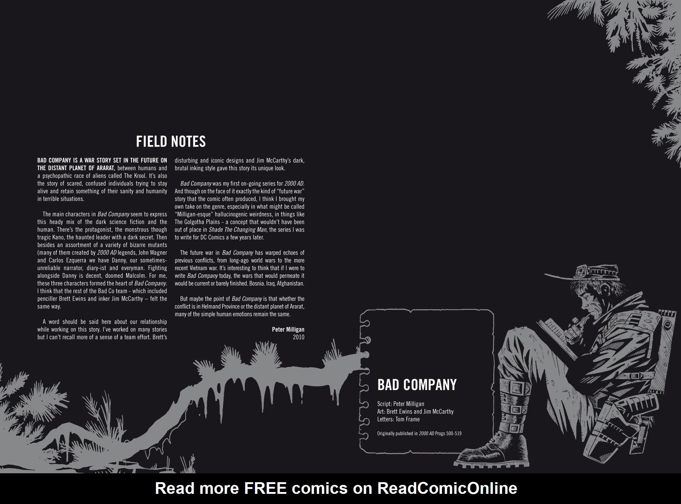 Read online The Complete Bad Company comic -  Issue # TPB - 4
