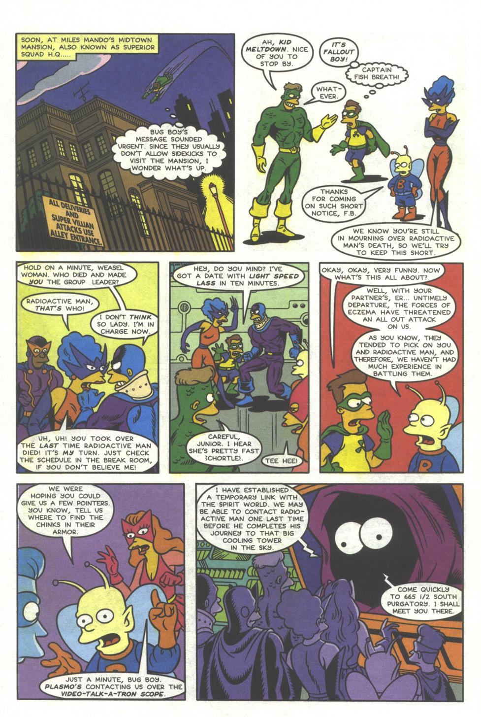 Read online Simpsons Comics comic -  Issue #37 - 32