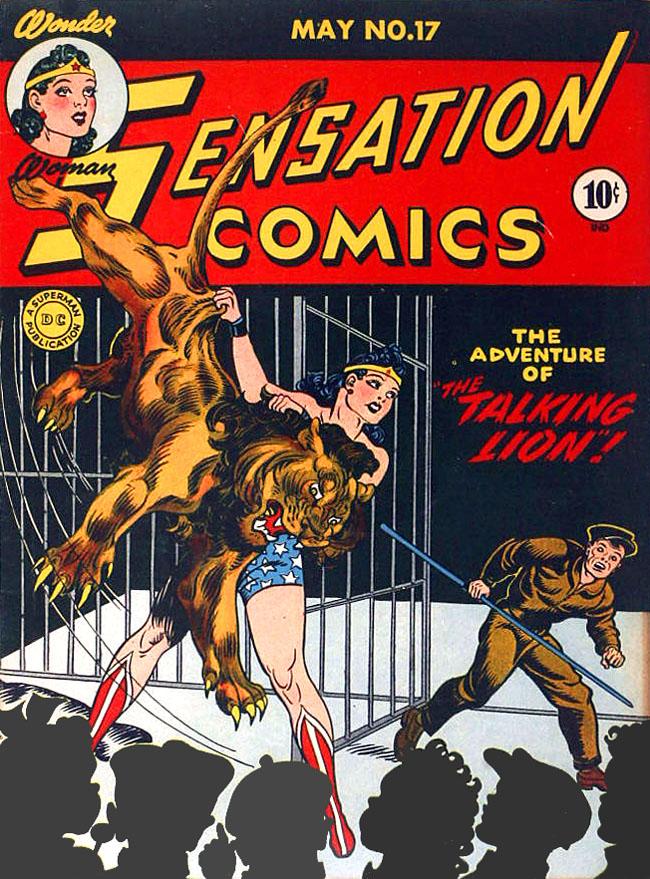 Read online Sensation (Mystery) Comics comic -  Issue #17 - 1