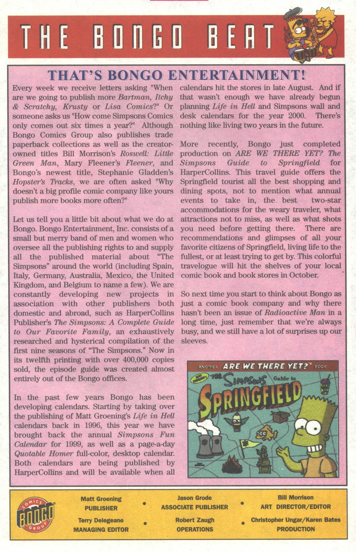 Read online Simpsons Comics comic -  Issue #38 - 24