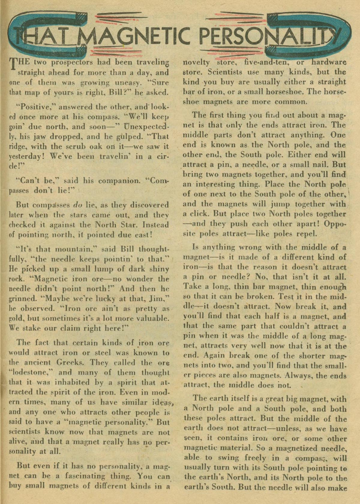 Read online Adventure Comics (1938) comic -  Issue #130 - 36