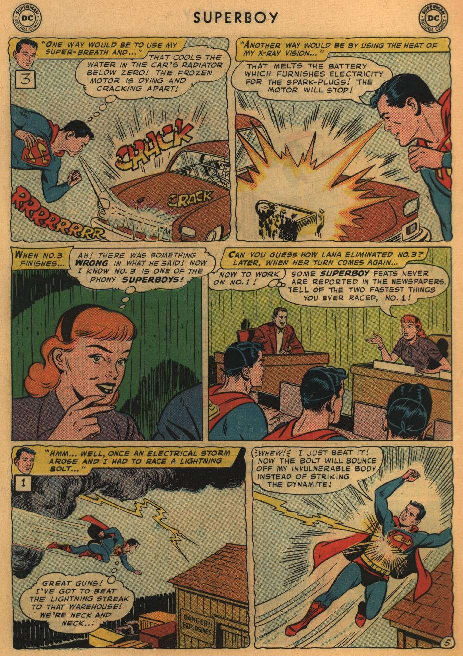 Superboy (1949) issue 67 - Page 6