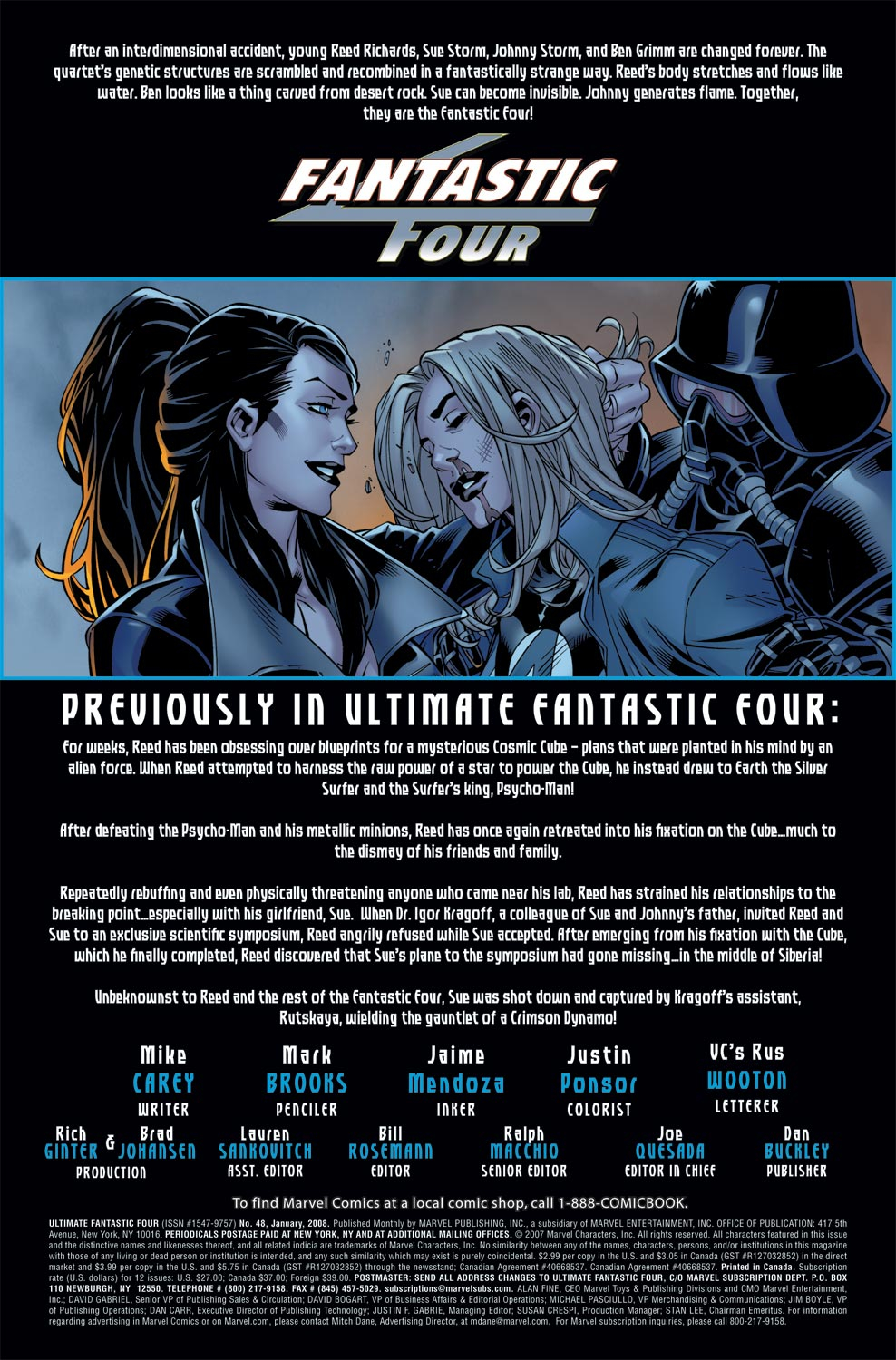 Read online Ultimate Fantastic Four (2004) comic -  Issue #48 - 2
