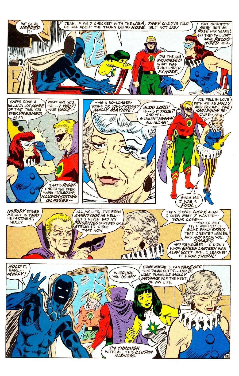 Infinity Inc. (1984) issue Annual 1 - Page 42