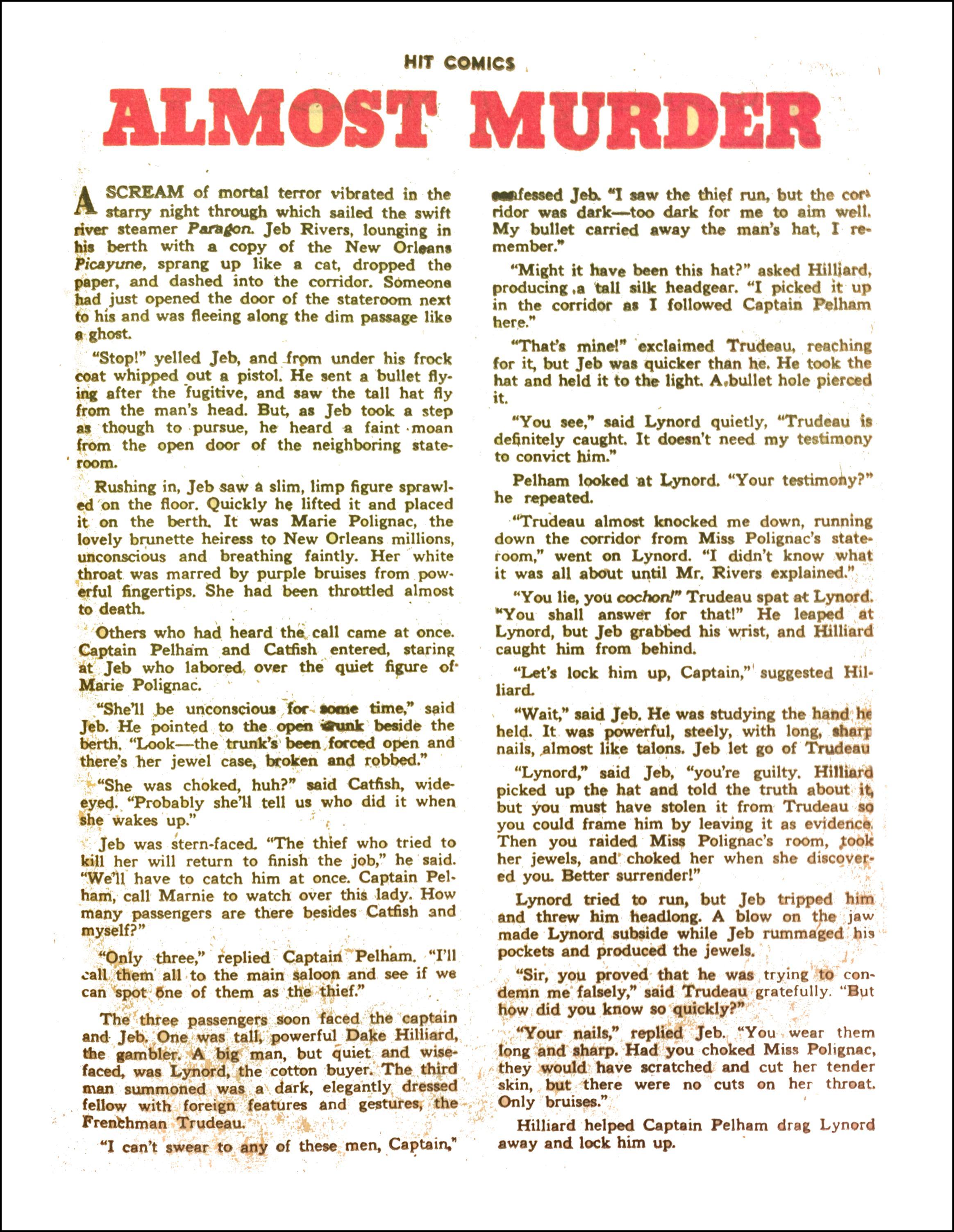 Read online Hit Comics comic -  Issue #65 - 27