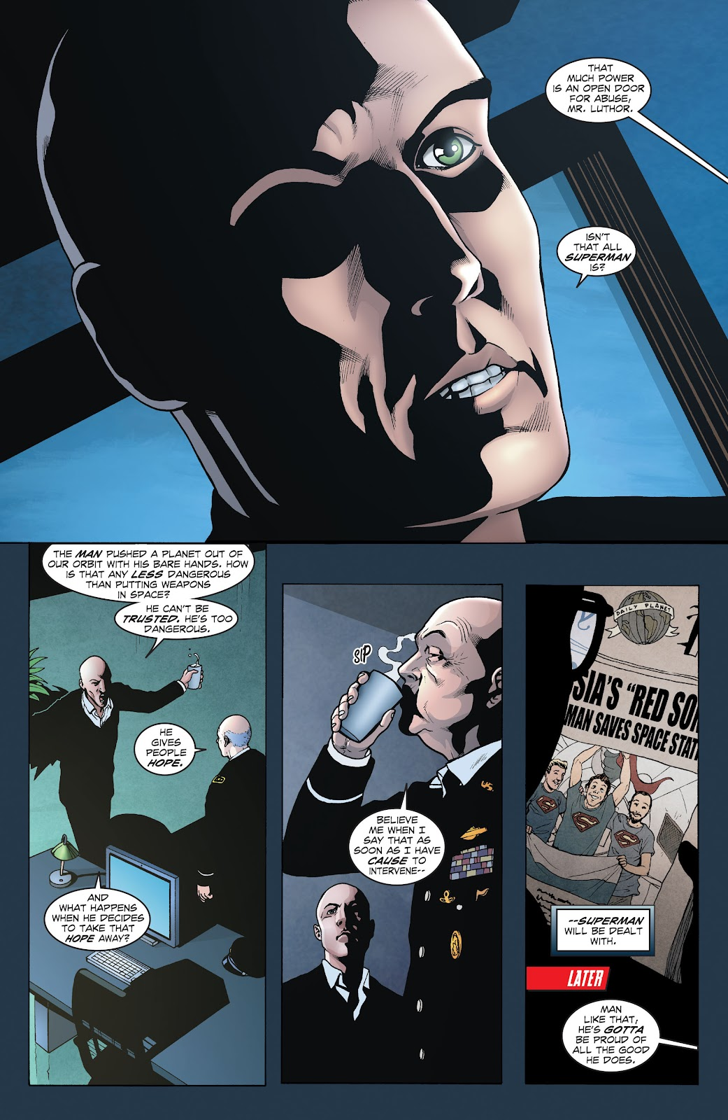 Read online Smallville Season 11 [II] comic -  Issue # TPB 1 - 22