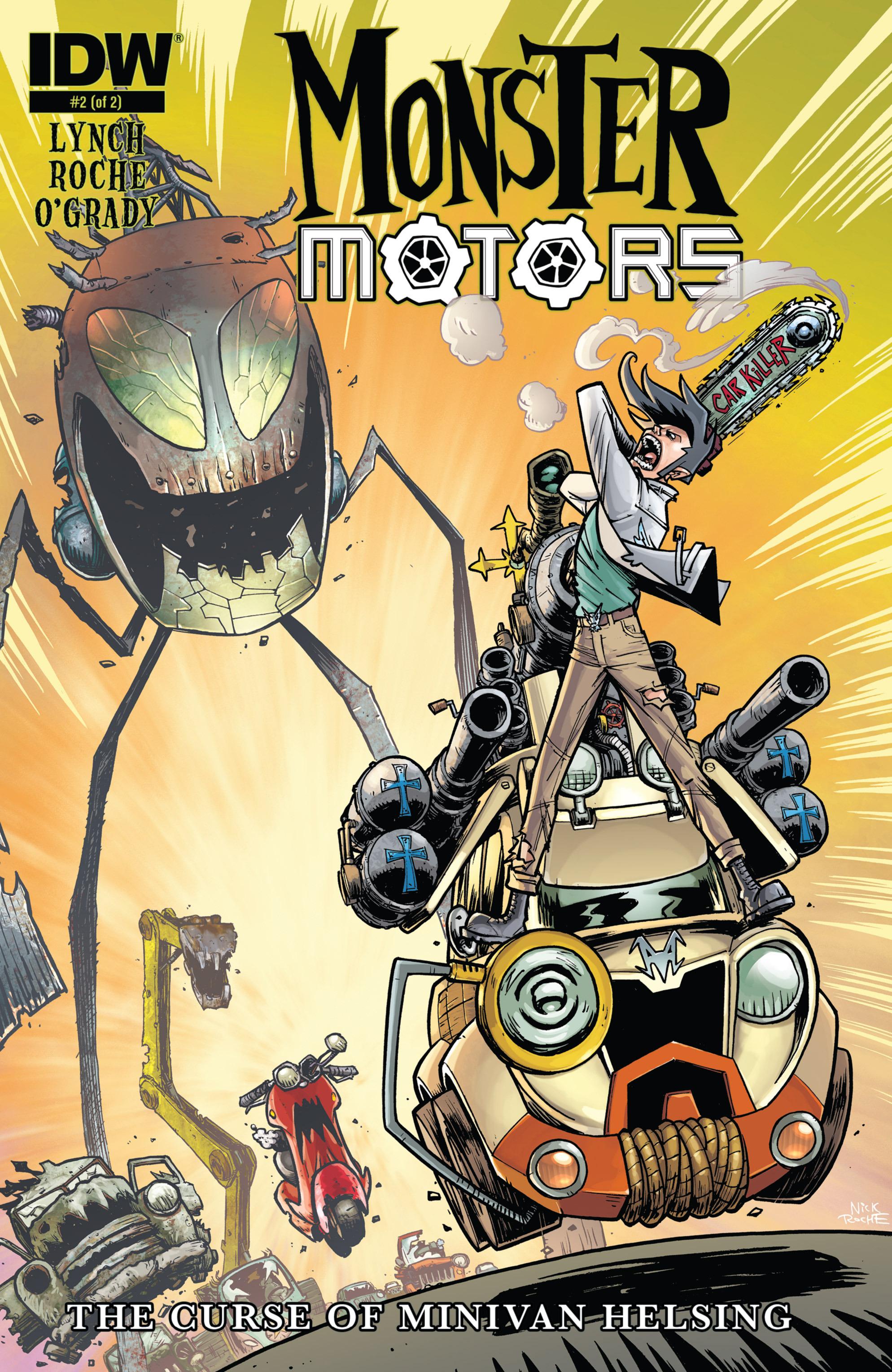 Read online Monster Motors: The Curse of Minivan Helsing comic -  Issue #2 - 1