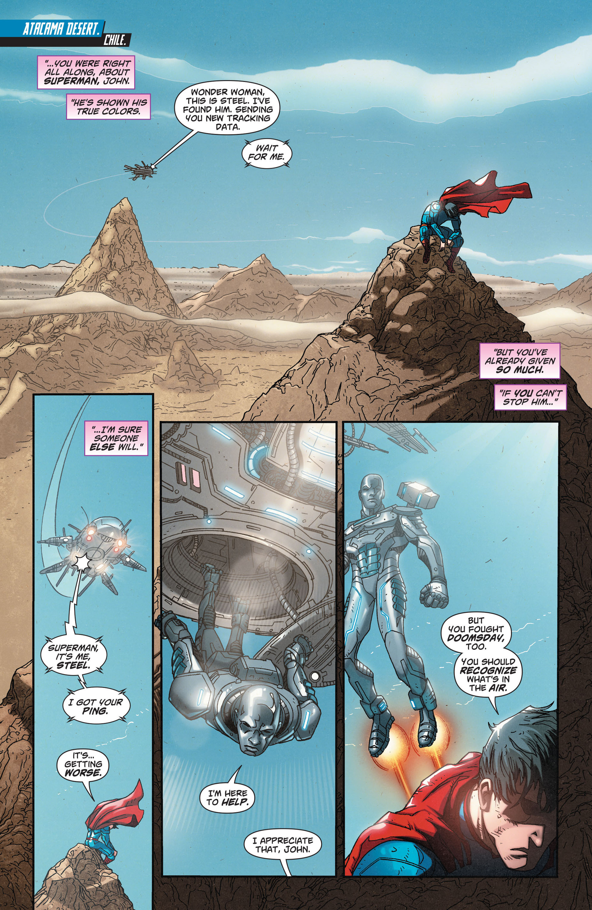 Read online Action Comics (2011) comic -  Issue #32 - 10