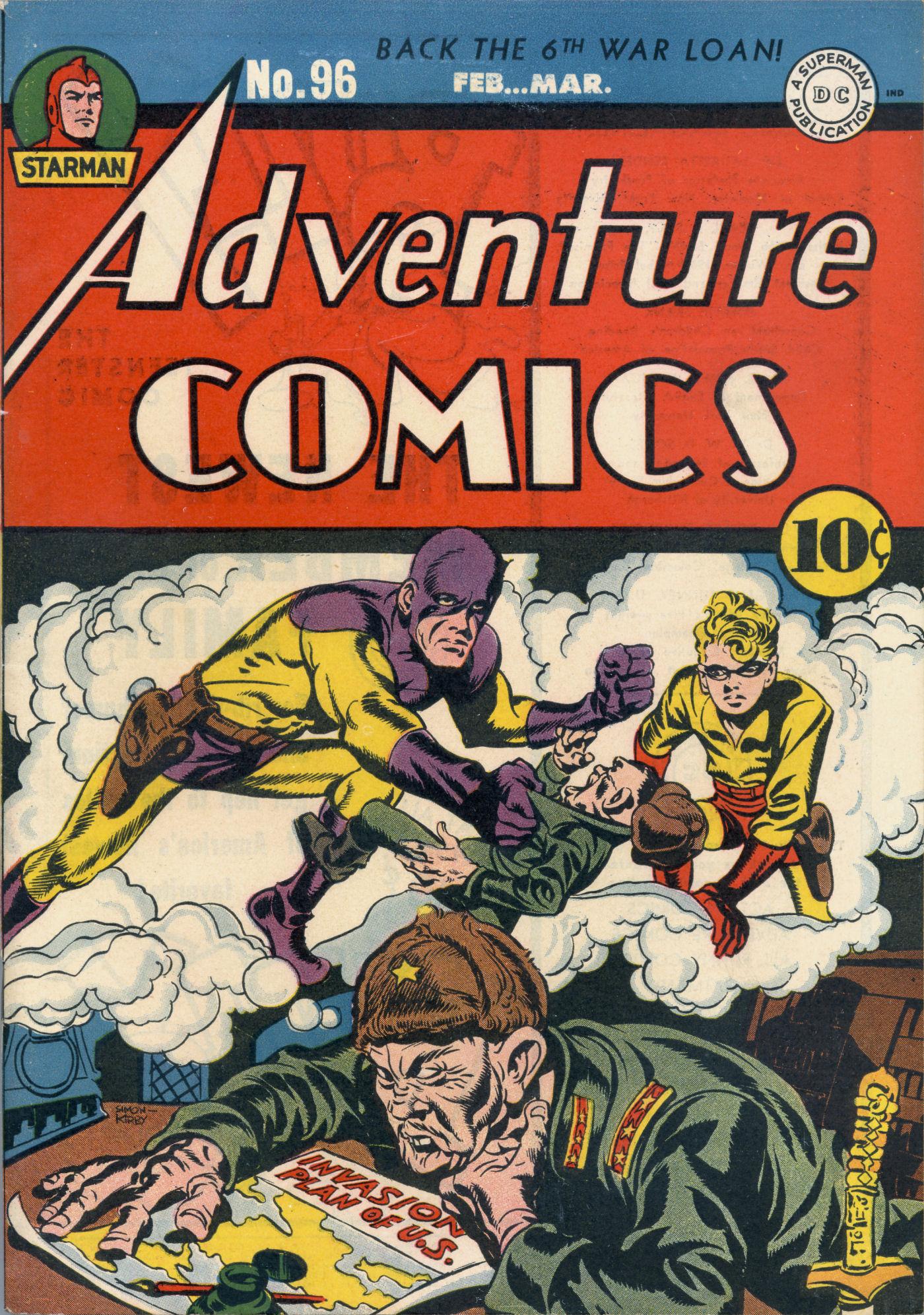 Read online Adventure Comics (1938) comic -  Issue #96 - 2
