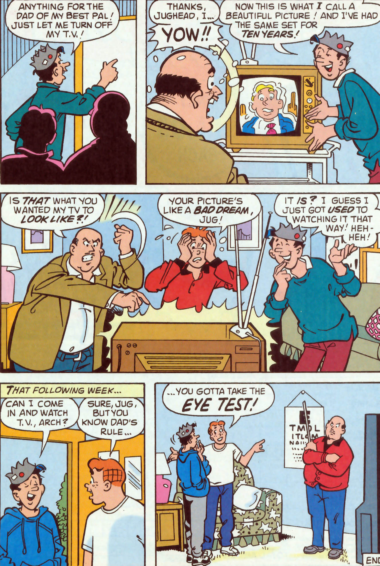Read online Archie (1960) comic -  Issue #477 - 14