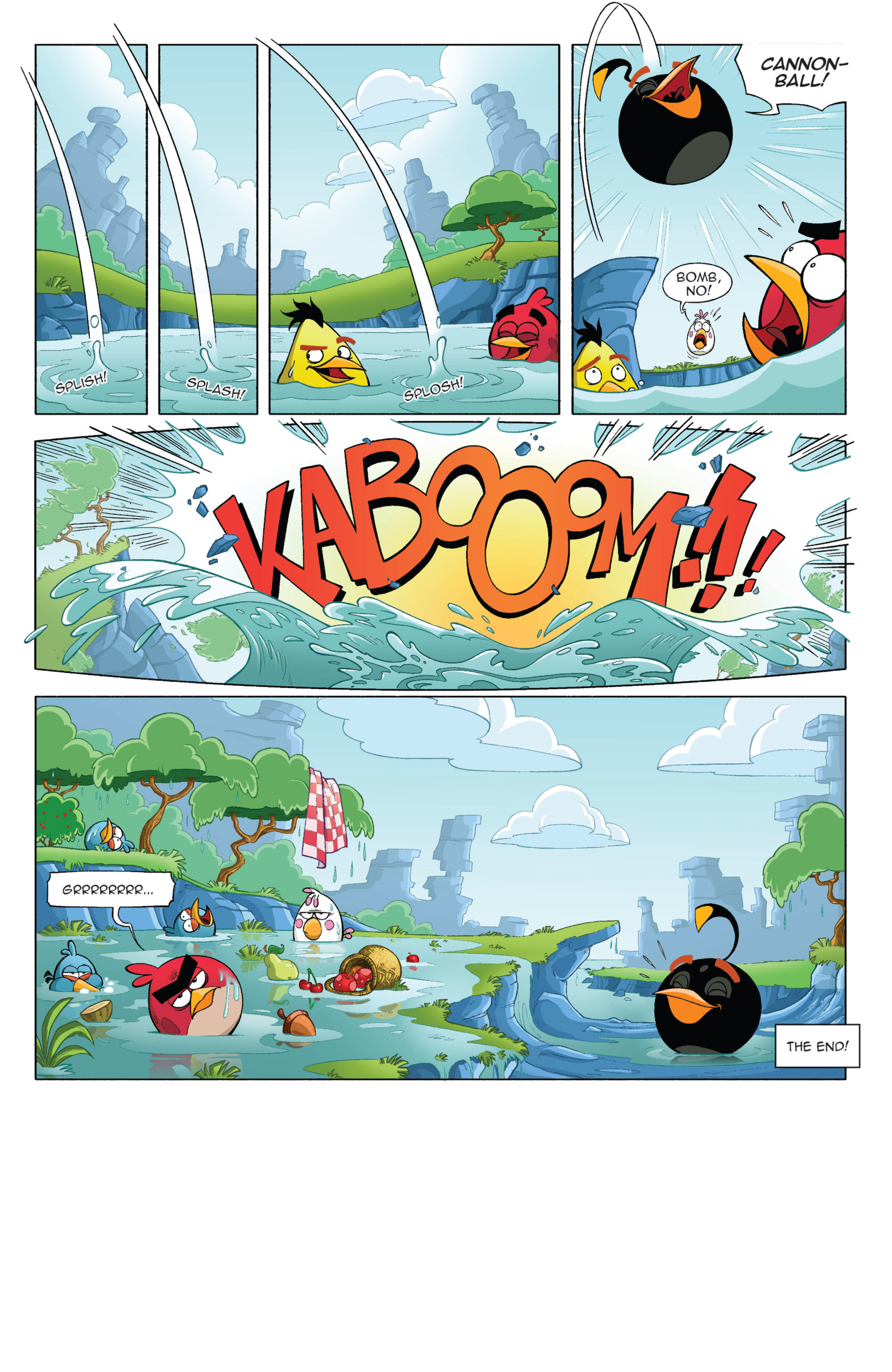 Read online Angry Birds Comics (2014) comic -  Issue #3 - 25