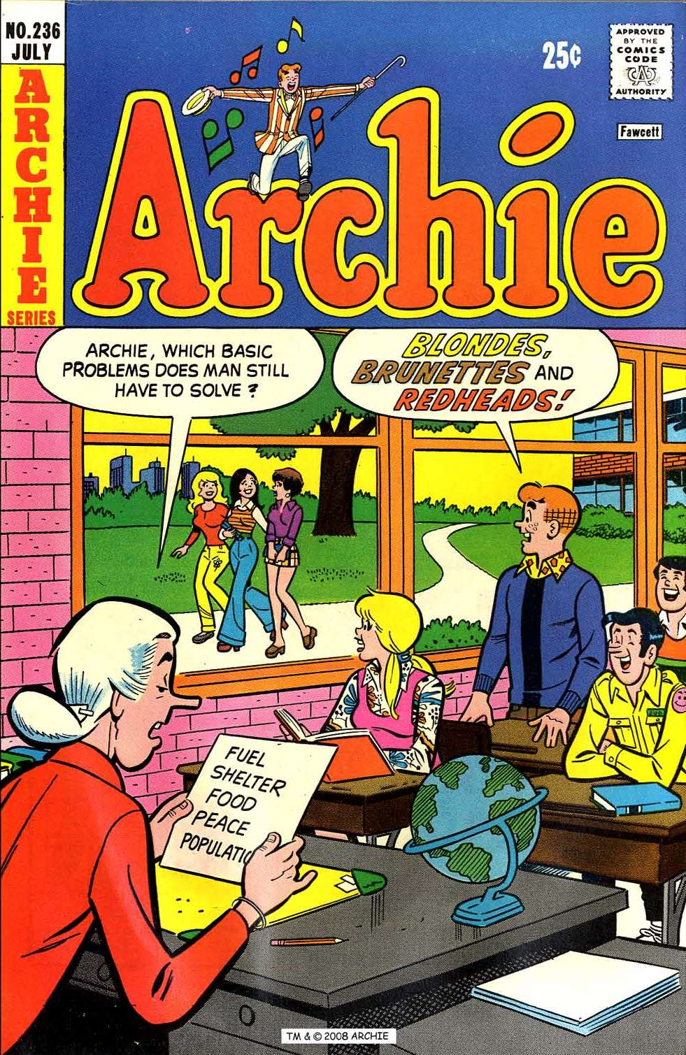Read online Archie (1960) comic -  Issue #236 - 1
