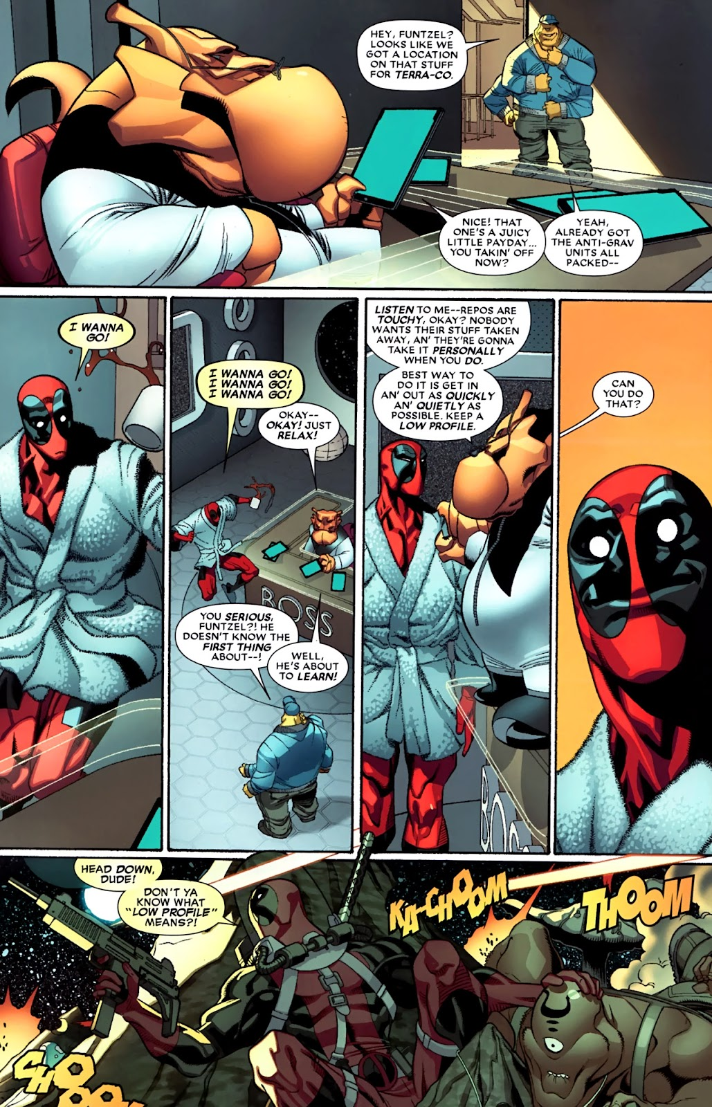 Read online Deadpool (2008) comic -  Issue #33 - 15