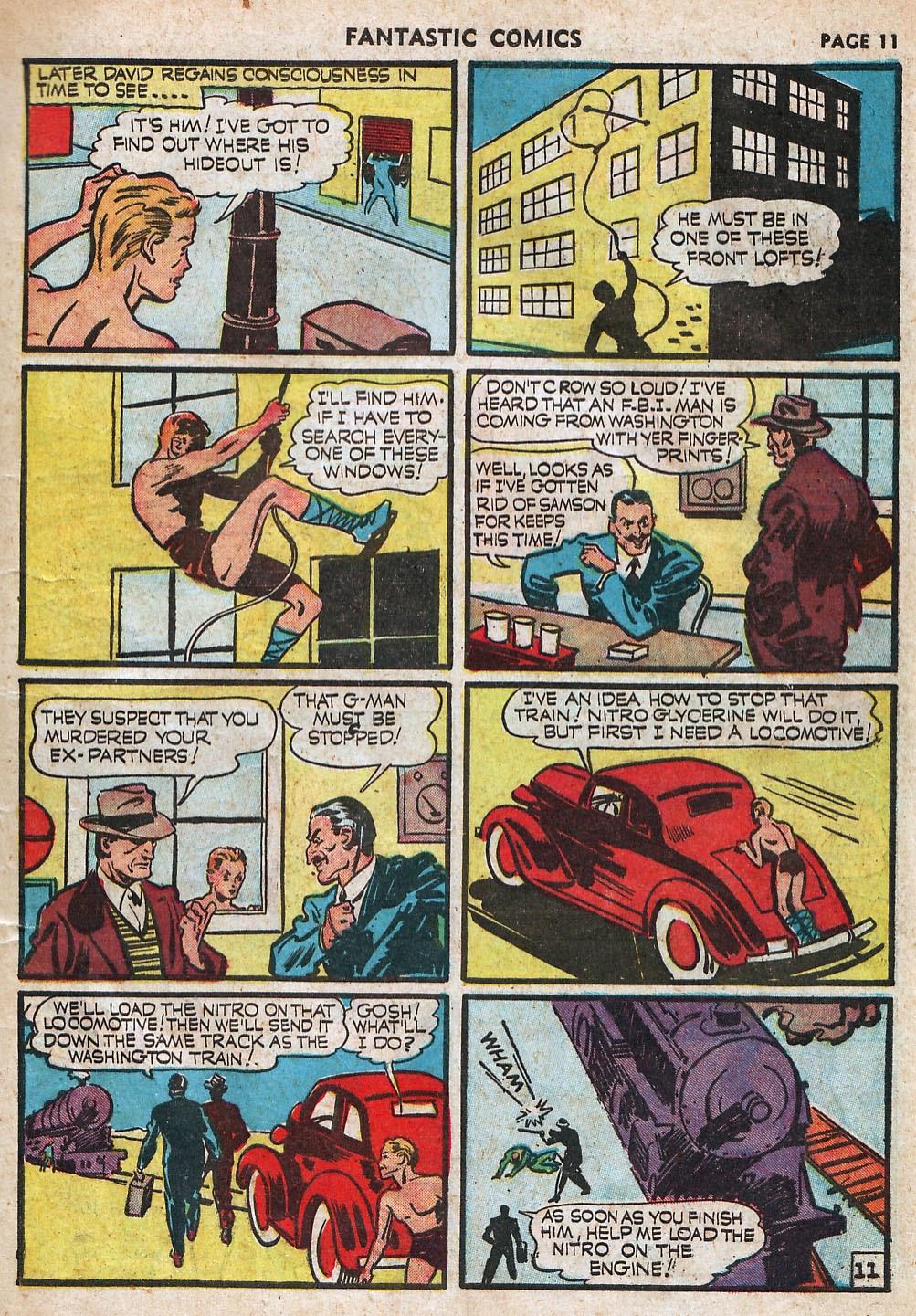 Read online Fantastic Comics comic -  Issue #18 - 13