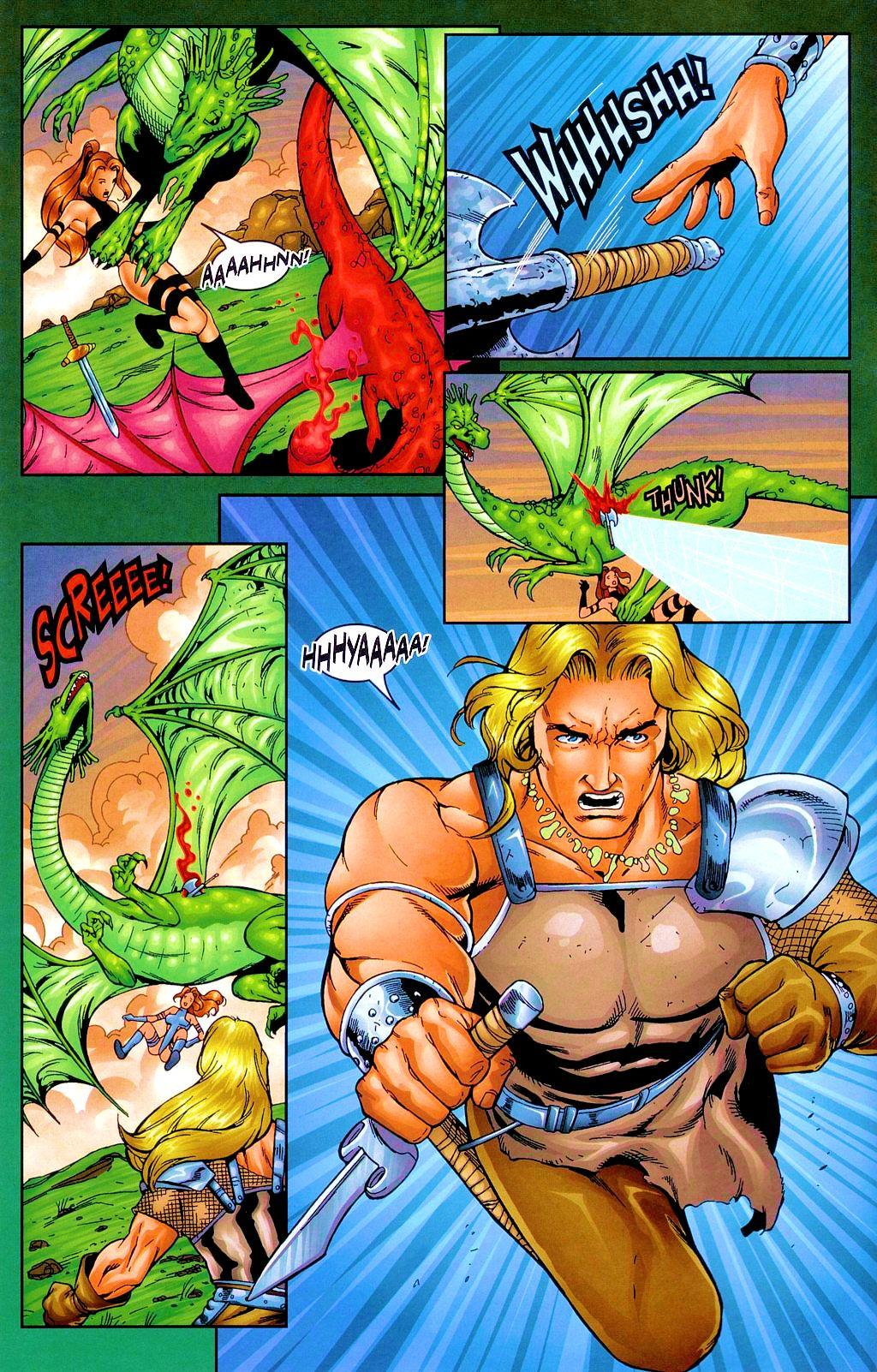 Read online Avengelyne: Dragon Realm comic -  Issue #1 - 7