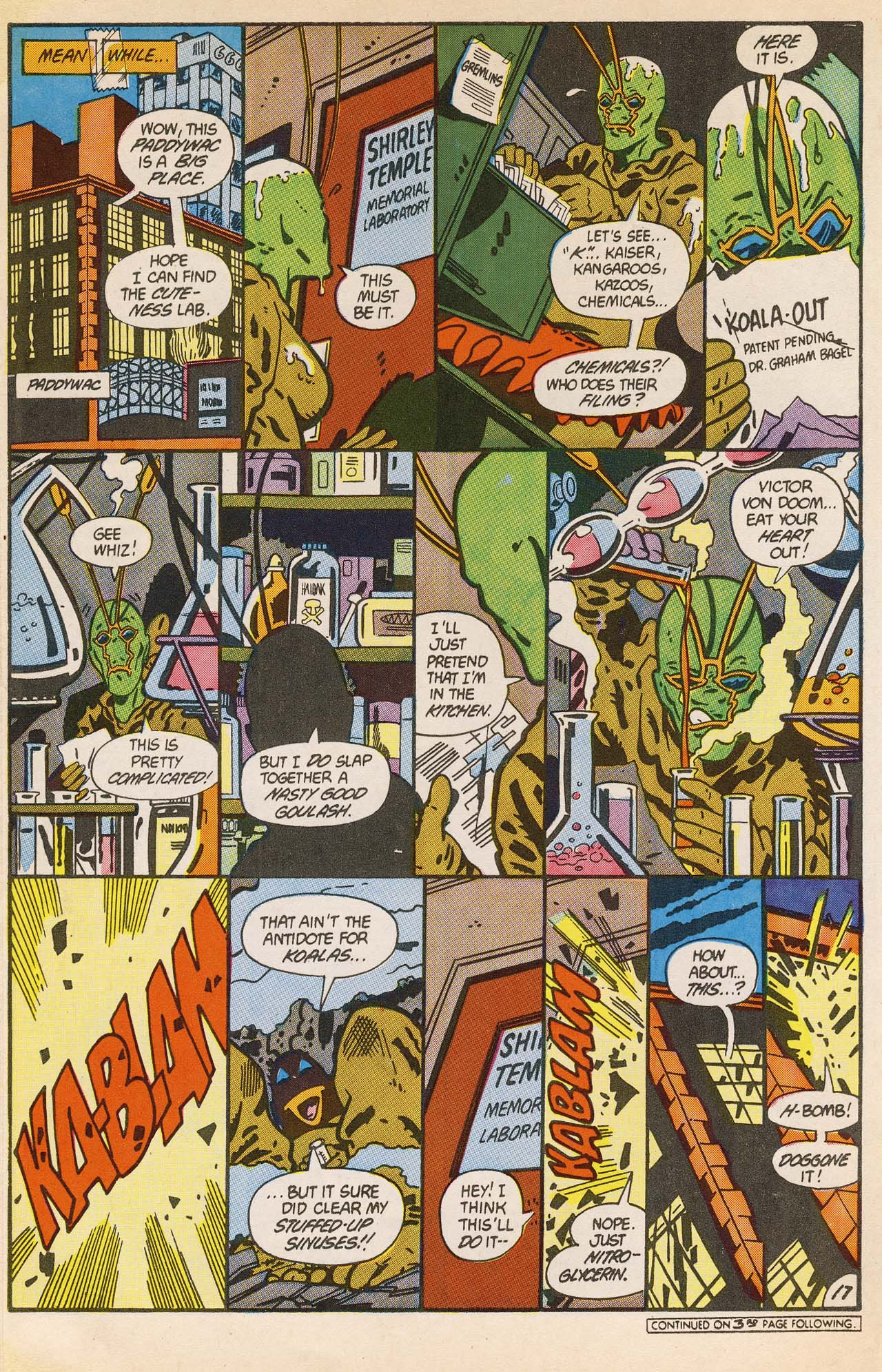 Read online Ambush Bug comic -  Issue #2 - 22