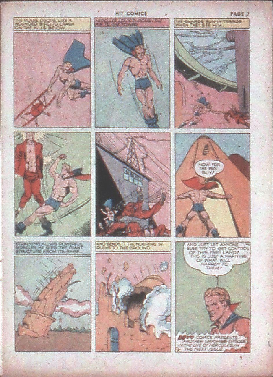 Read online Hit Comics comic -  Issue #8 - 9