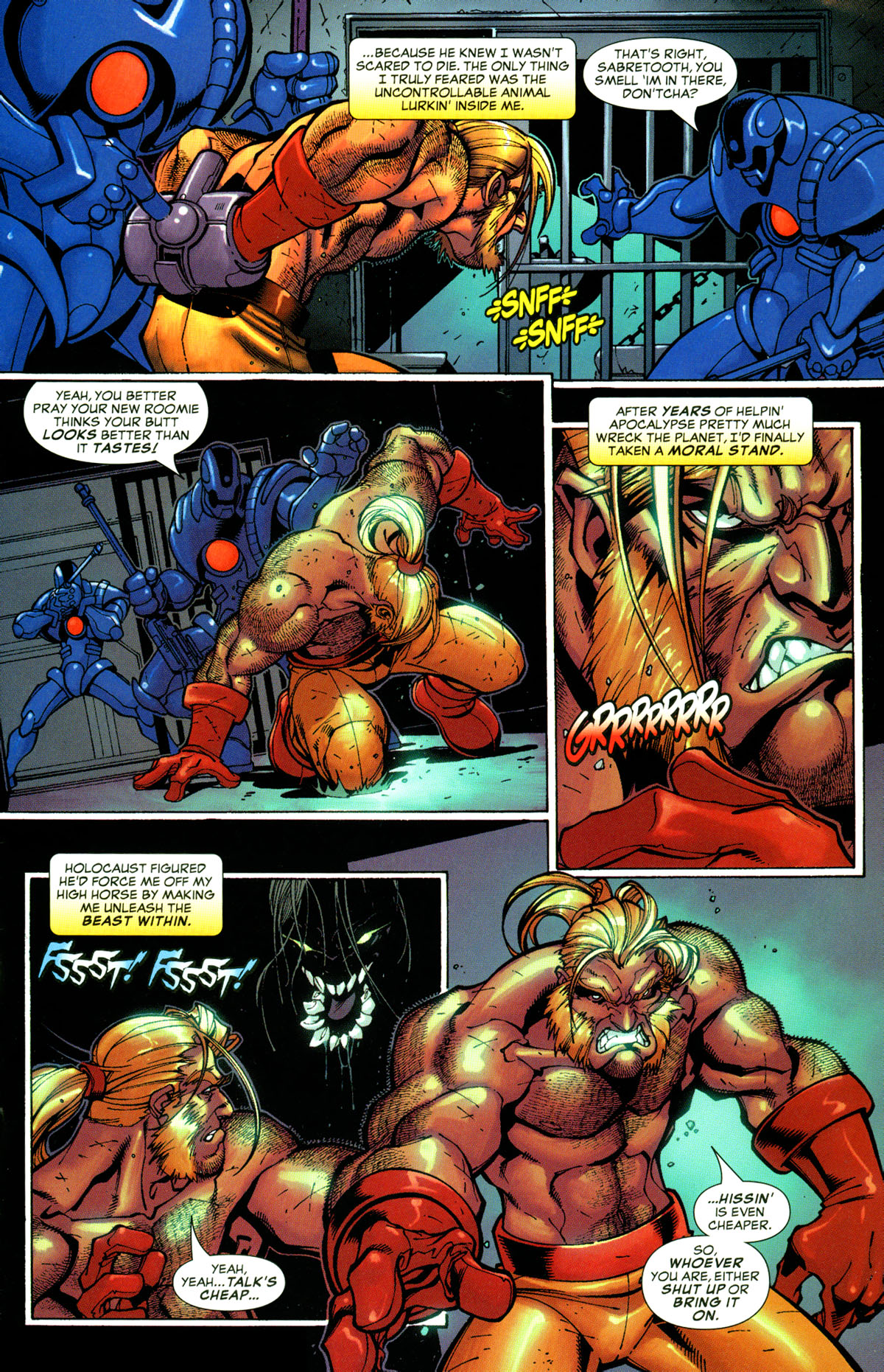 Read online X-Men: Age of Apocalypse One-Shot comic -  Issue # Full - 12