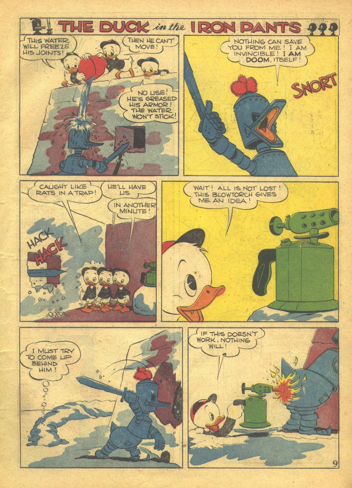Walt Disney's Comics and Stories issue 41 - Page 11