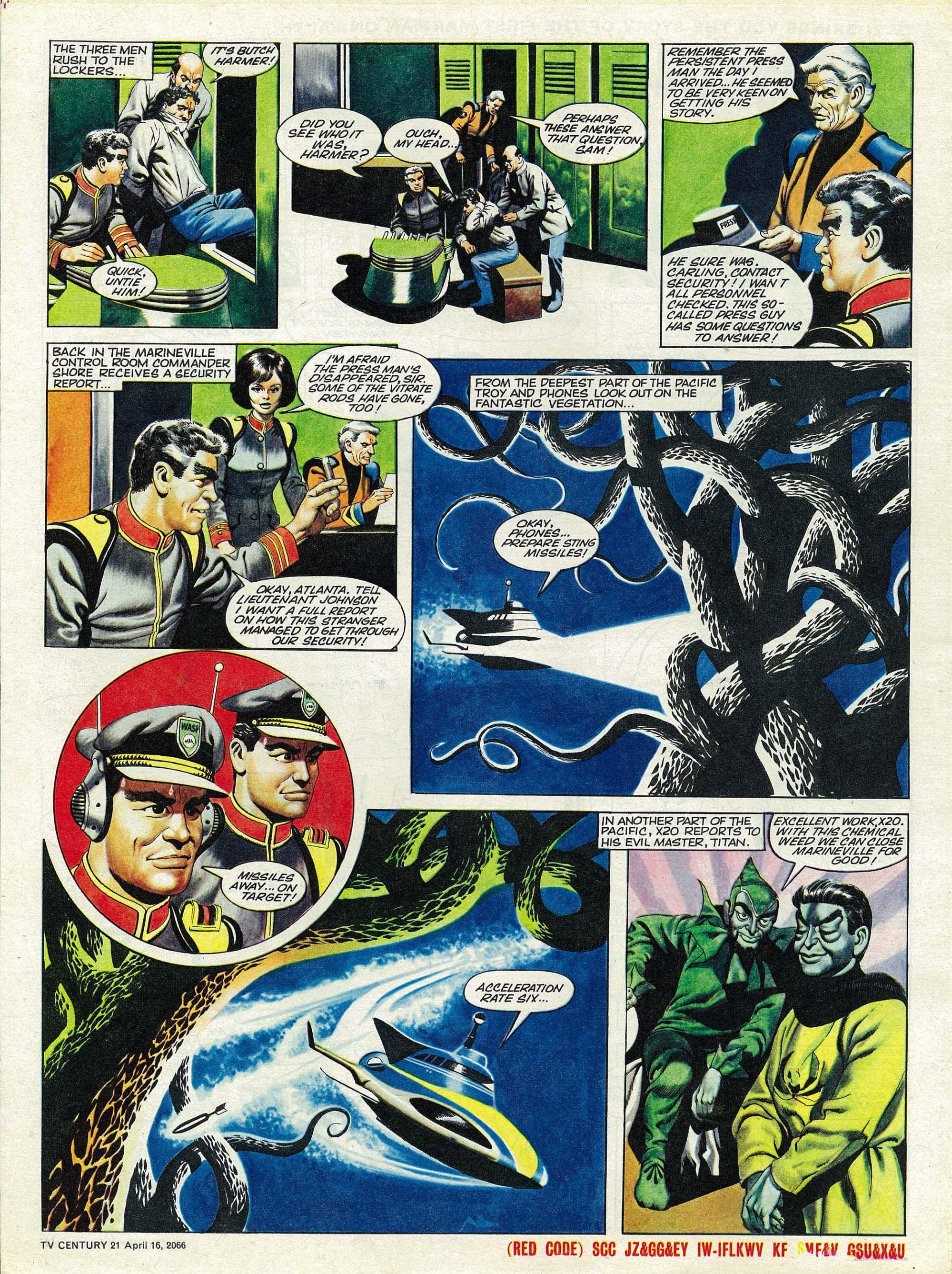 Read online TV Century 21 (TV 21) comic -  Issue #65 - 5