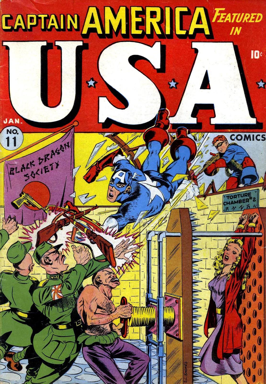 USA Comics issue 11 - Page 1
