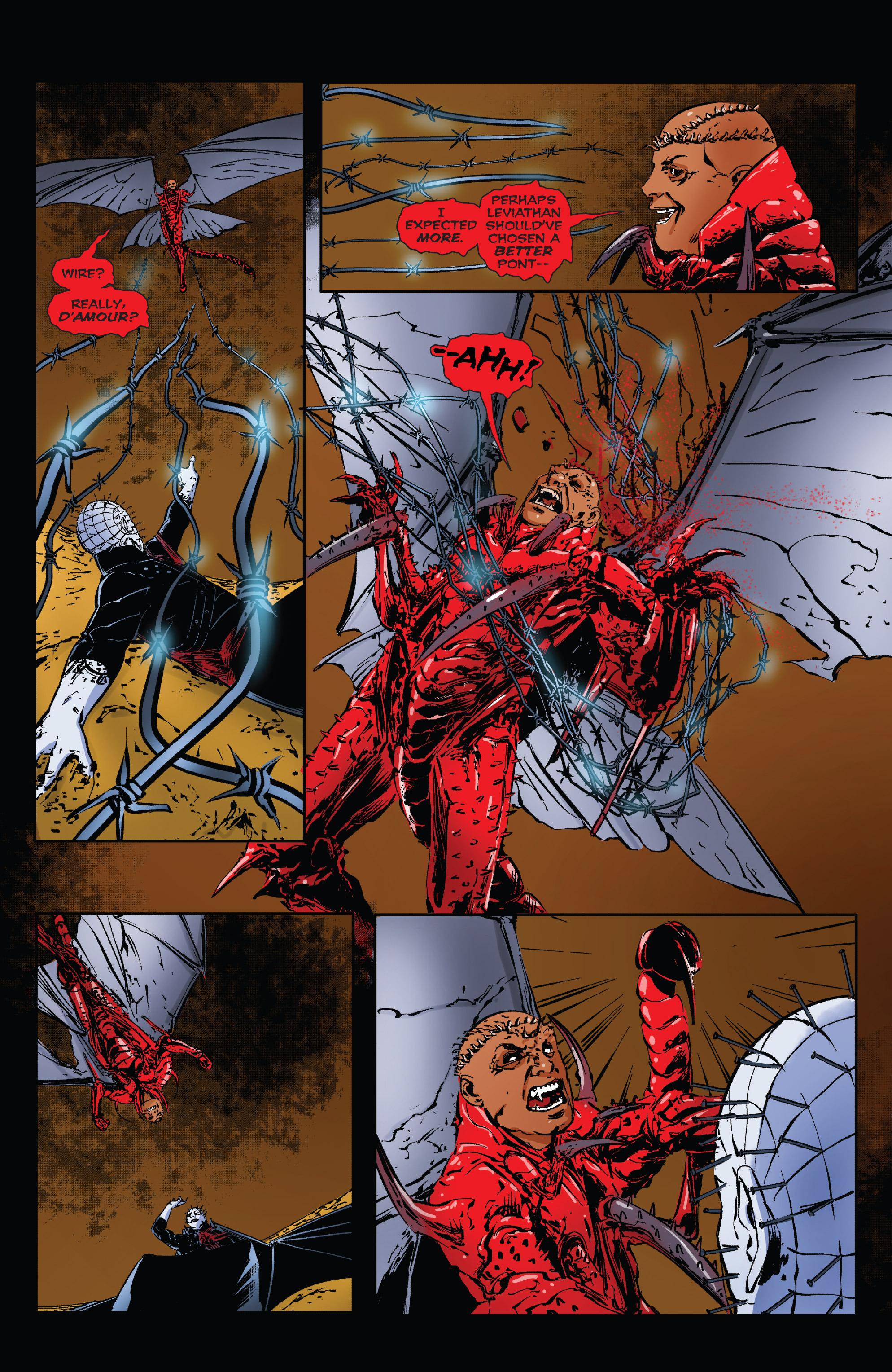 Read online Clive Barker's Hellraiser: The Dark Watch comic -  Issue # TPB 3 - 74