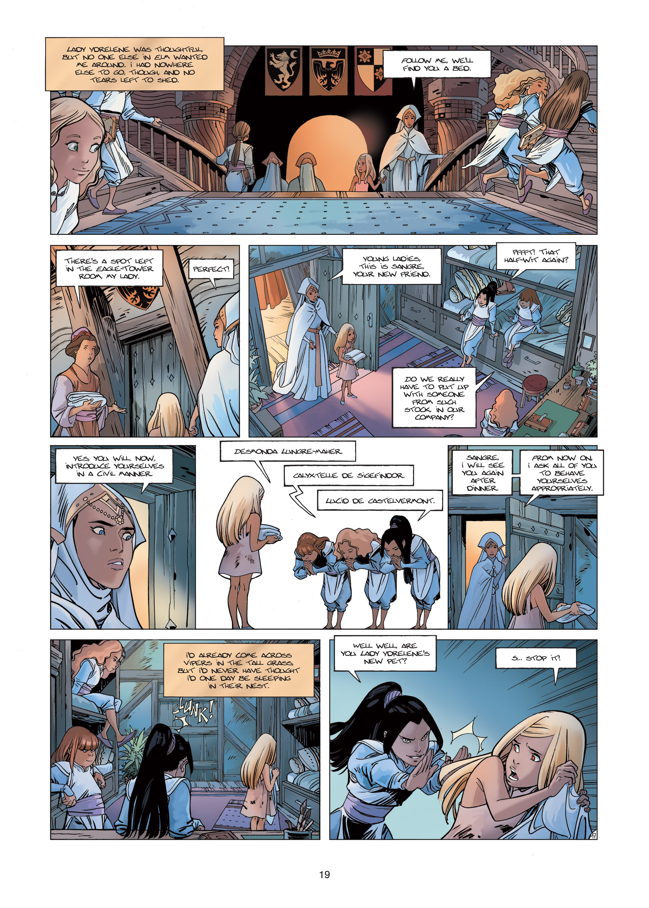 Read online Sangre Vol. 1: Sangre the Survivor comic -  Issue # Full - 19