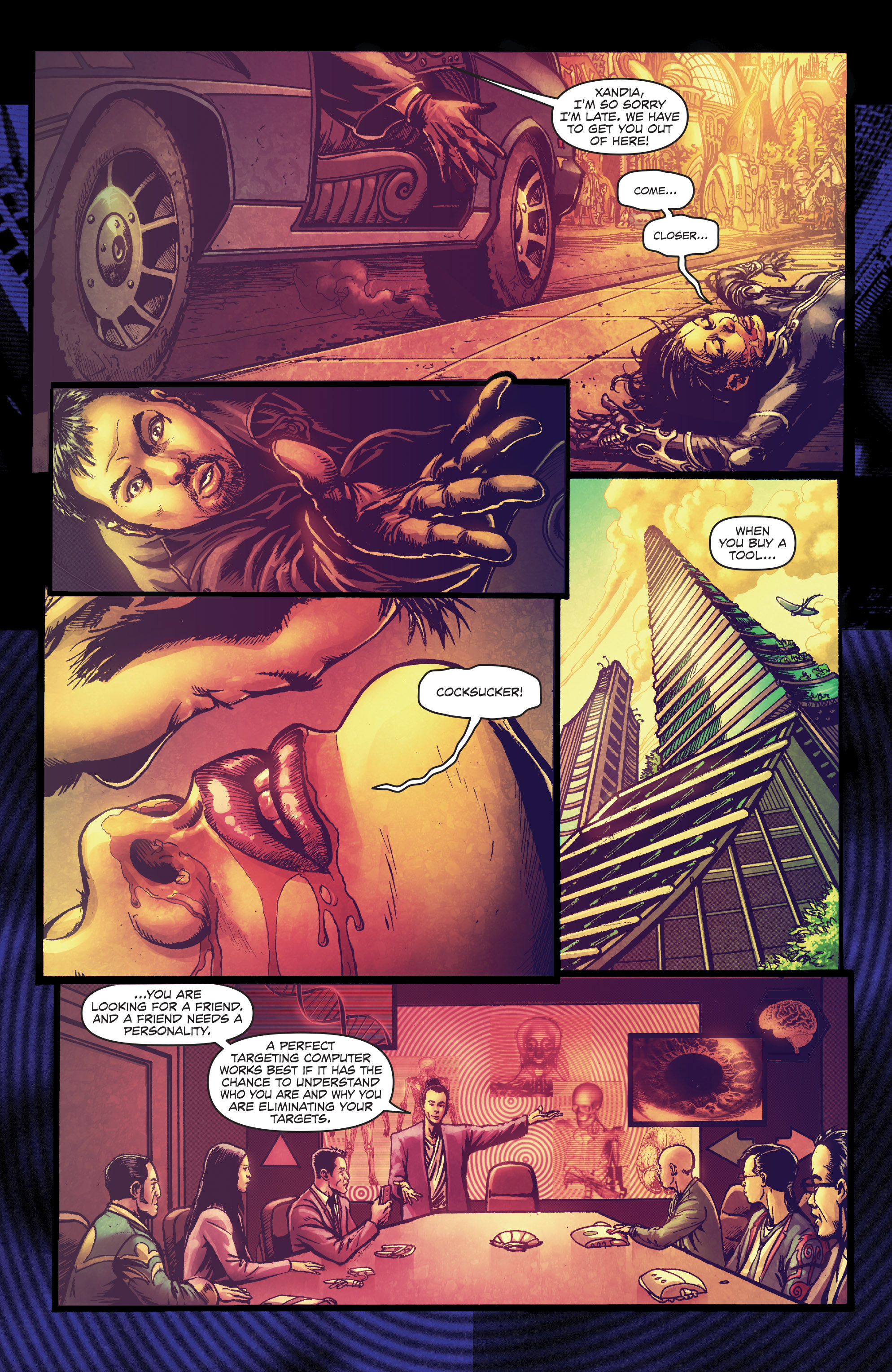 Read online Ballistic (2013) comic -  Issue #4 - 7