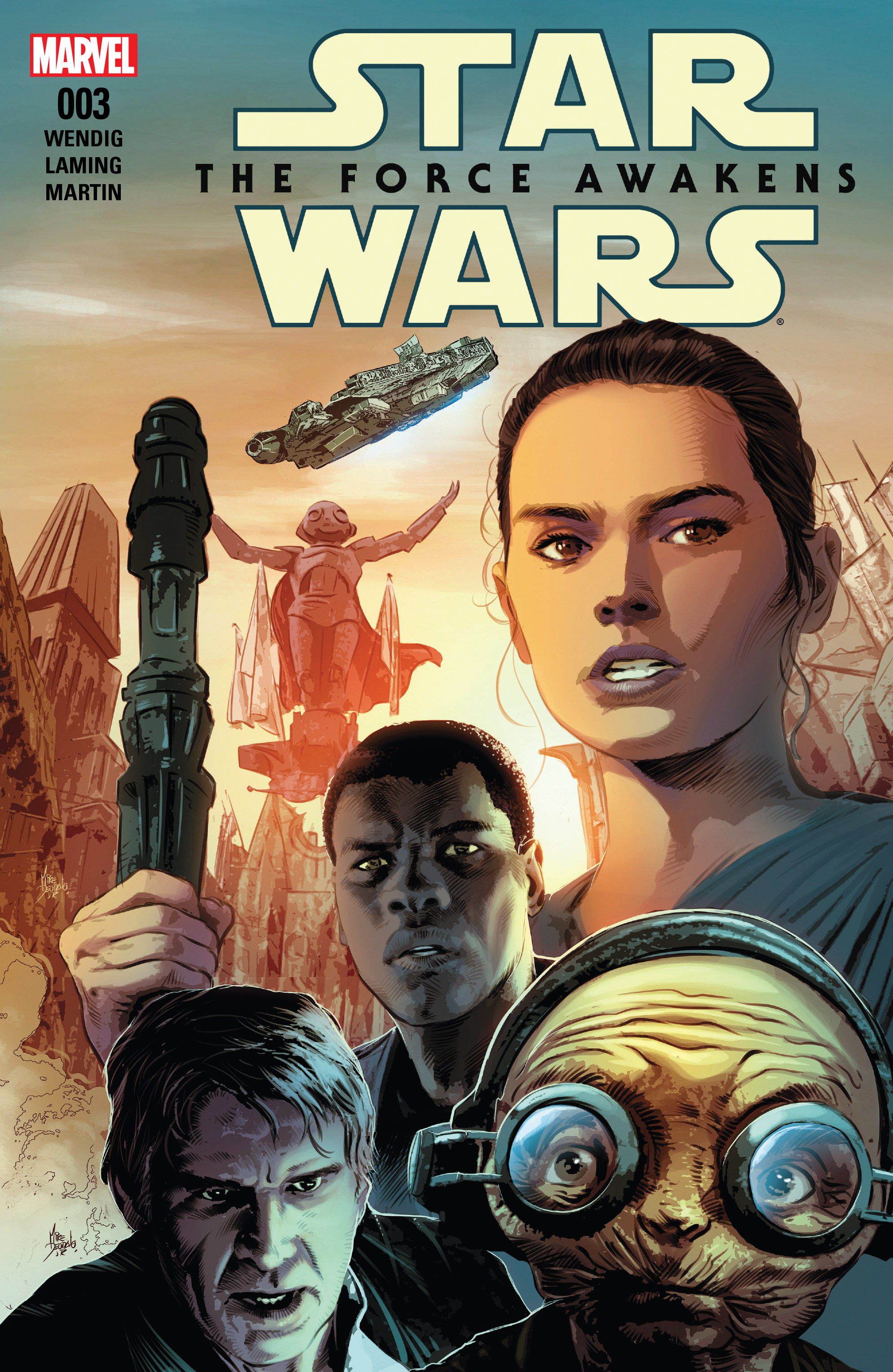 Star Wars: The Force Awakens Adaptation 3 Page 1