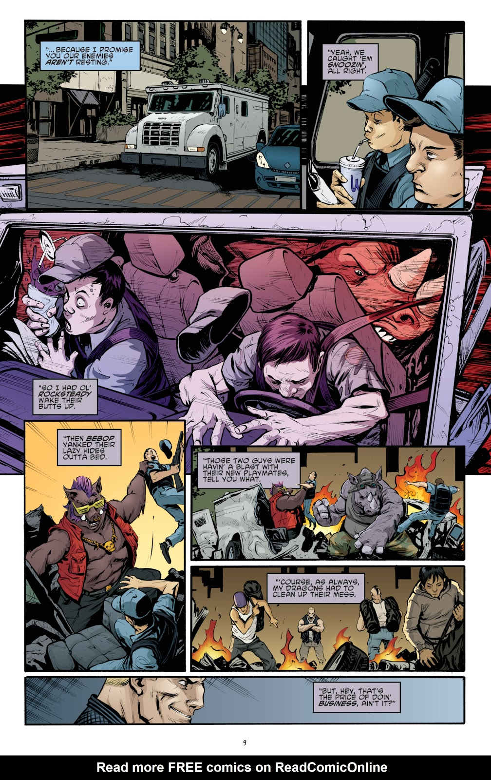 Read online Teenage Mutant Ninja Turtles: The IDW Collection comic -  Issue # TPB 4 (Part 3) - 16