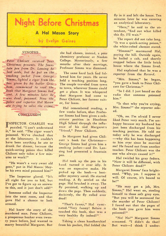 Read online Sensation (Mystery) Comics comic -  Issue #25 - 40