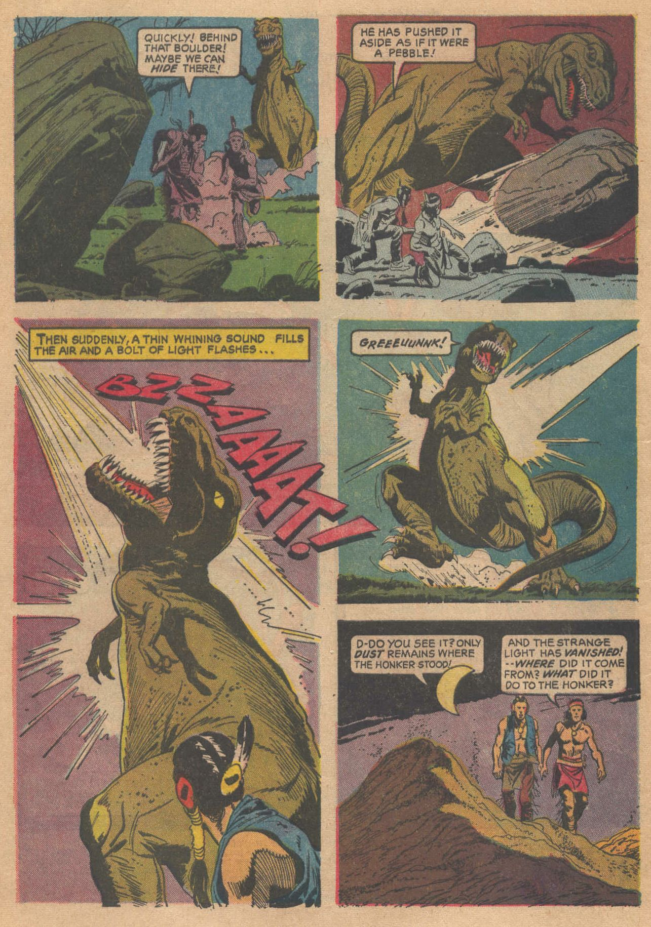Read online Turok, Son of Stone comic -  Issue #58 - 4