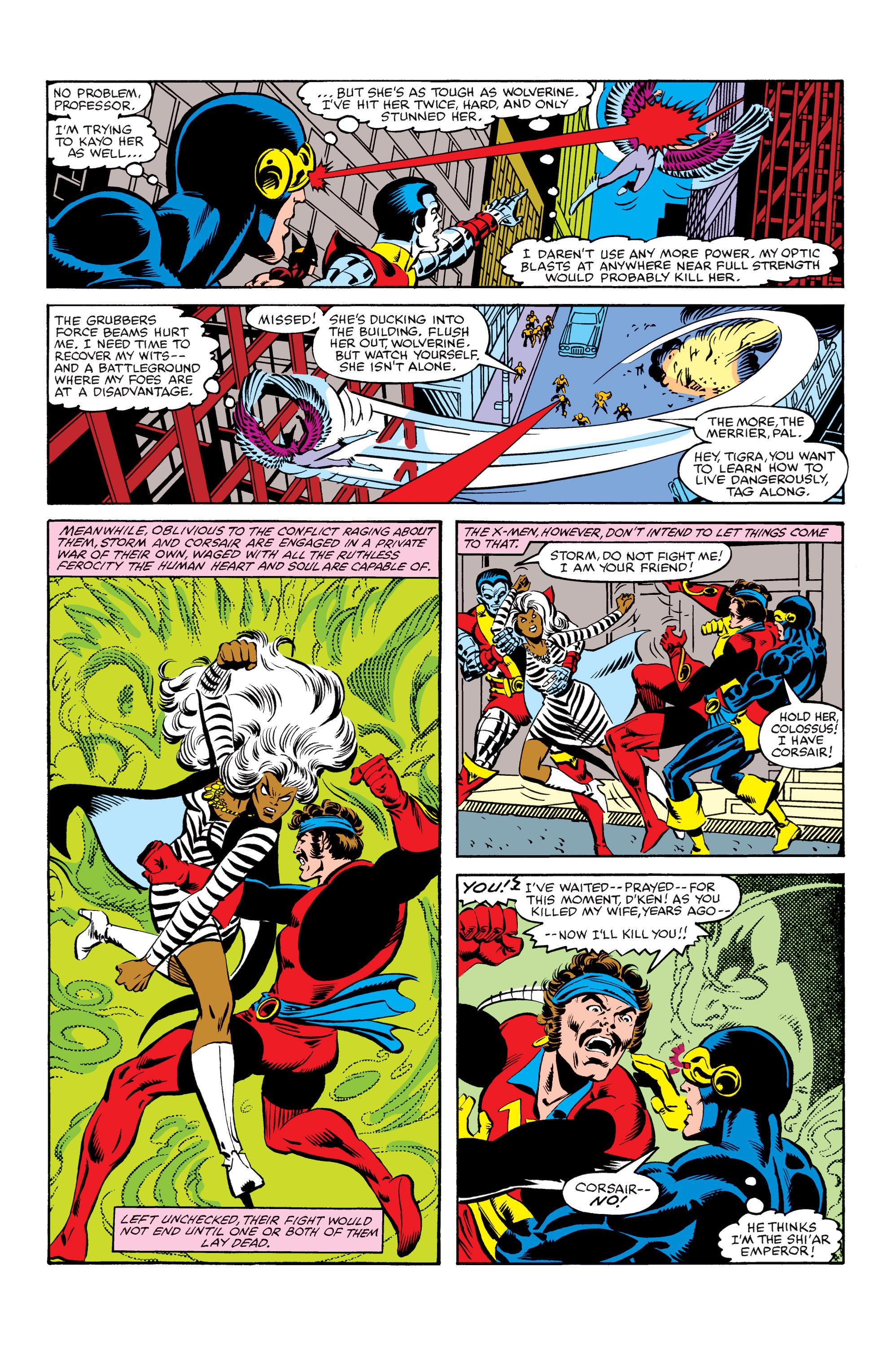 Read online Uncanny X-Men (1963) comic -  Issue #155 - 16