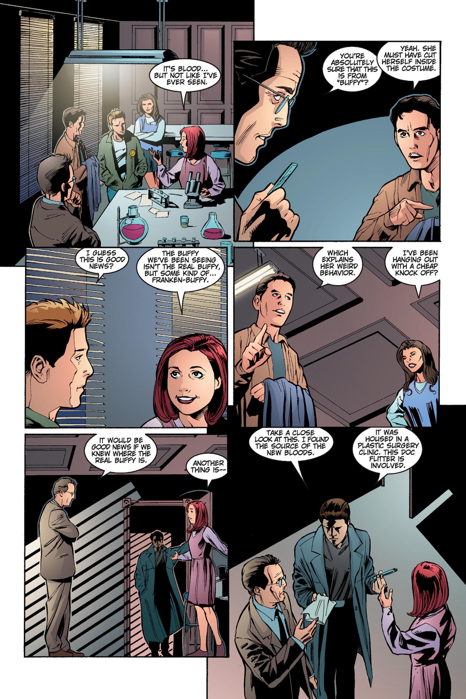 Read online Buffy the Vampire Slayer: Omnibus comic -  Issue # TPB 4 - 187