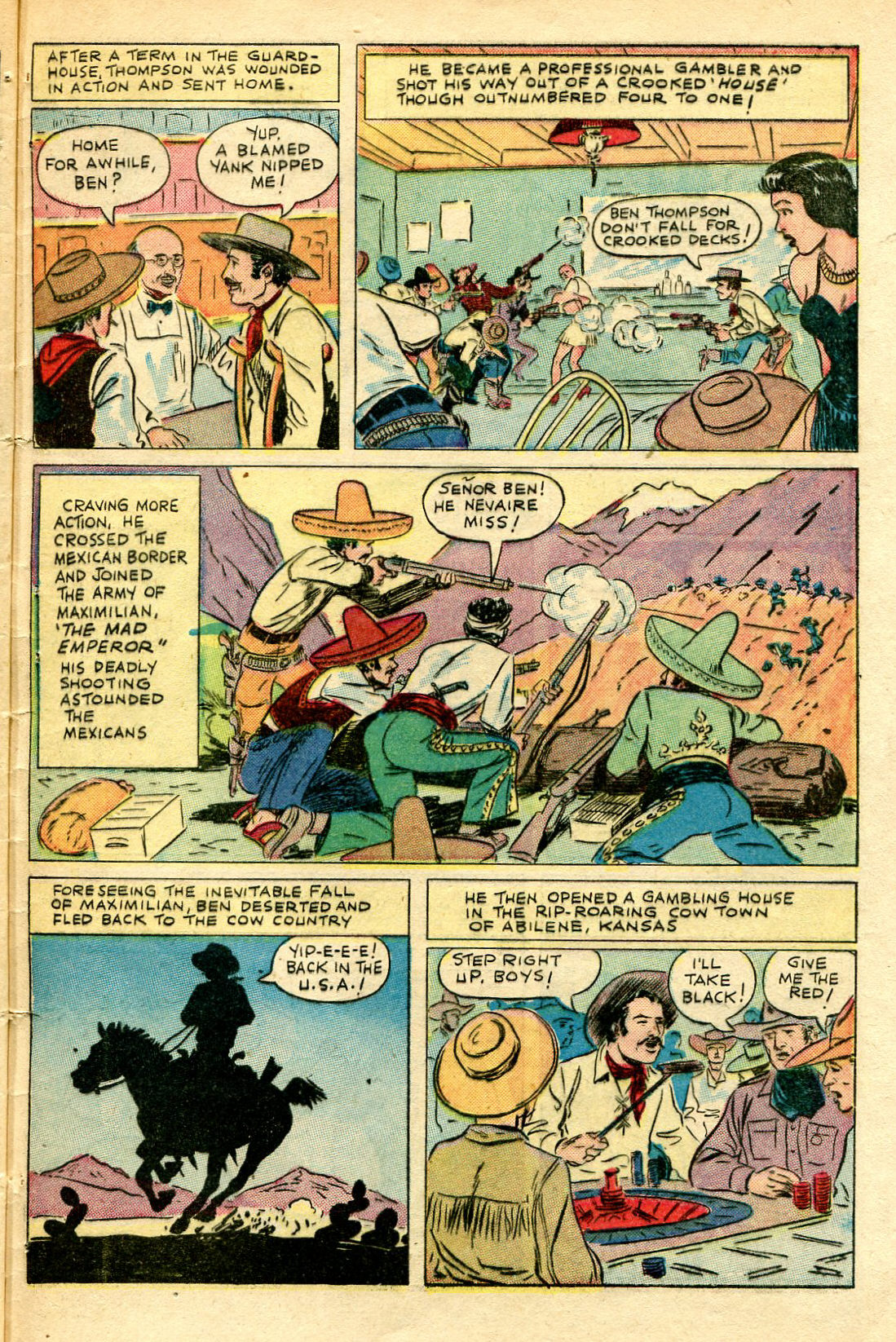 Read online Shadow Comics comic -  Issue #67 - 45