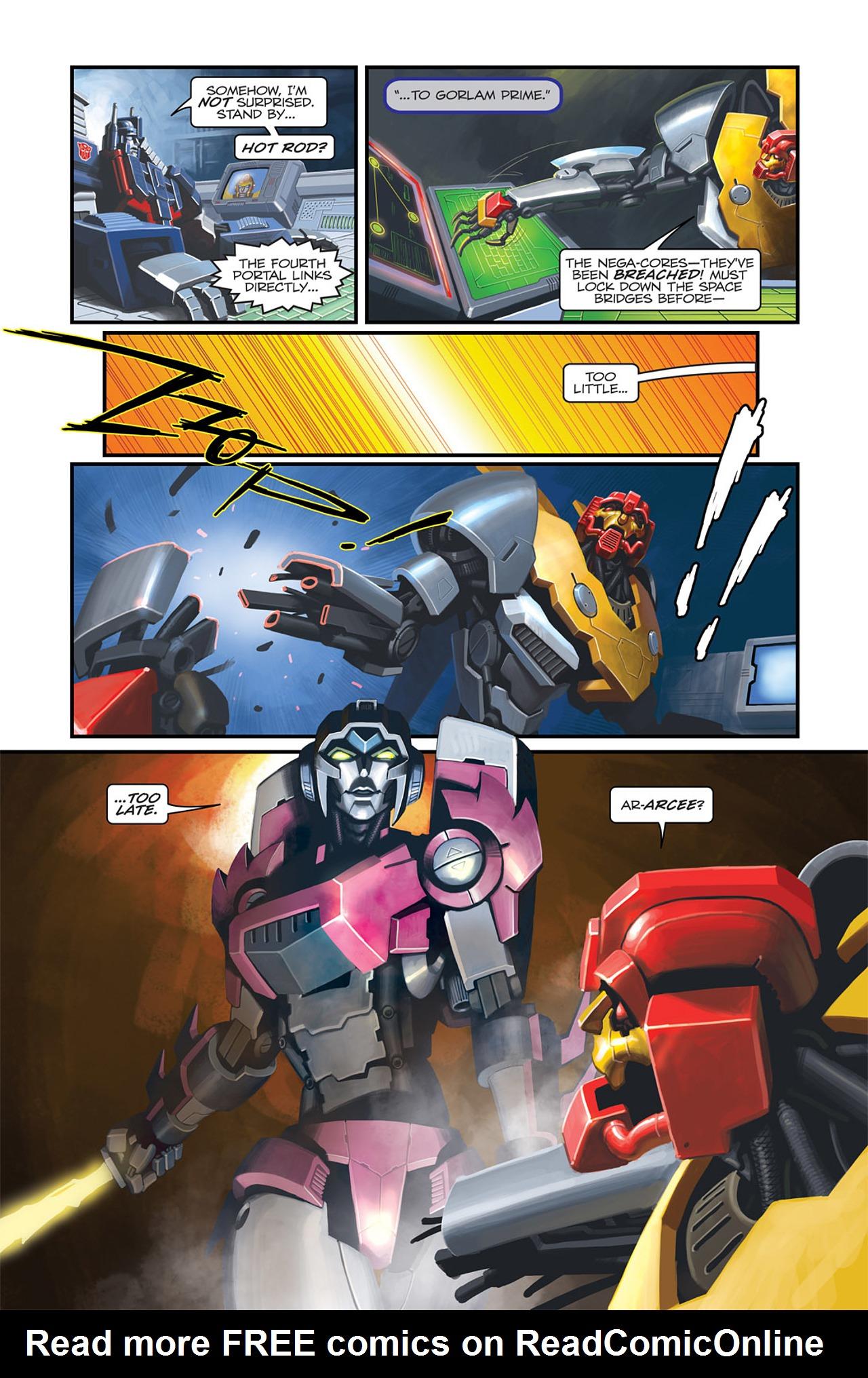 Read online Transformers Spotlight: Sideswipe comic -  Issue # Full - 19