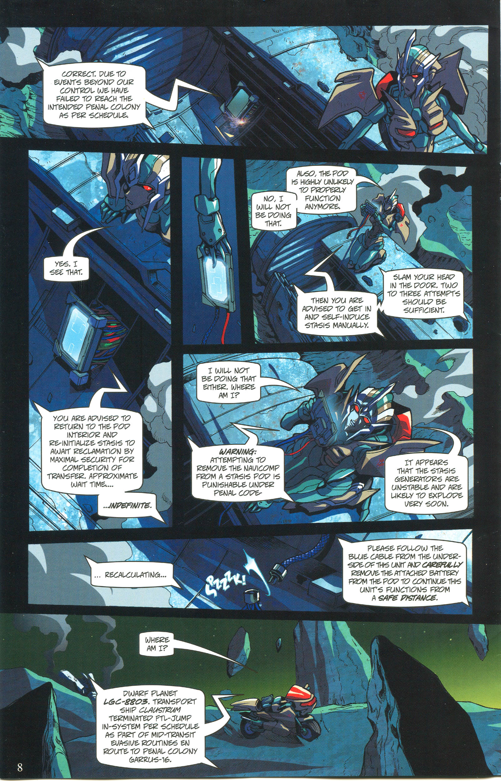 Read online Transformers: Collectors' Club comic -  Issue #57 - 8