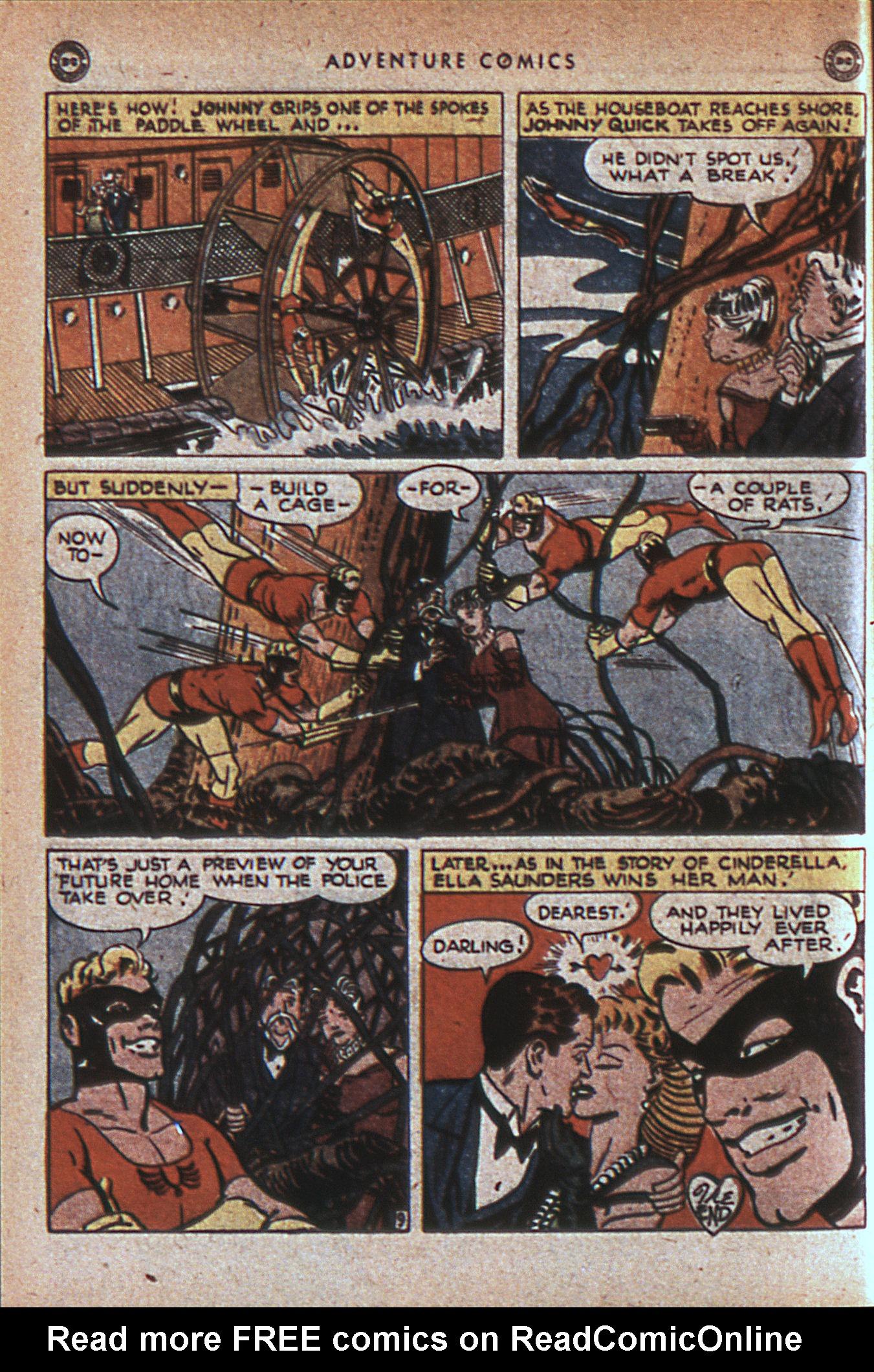 Read online Adventure Comics (1938) comic -  Issue #124 - 49