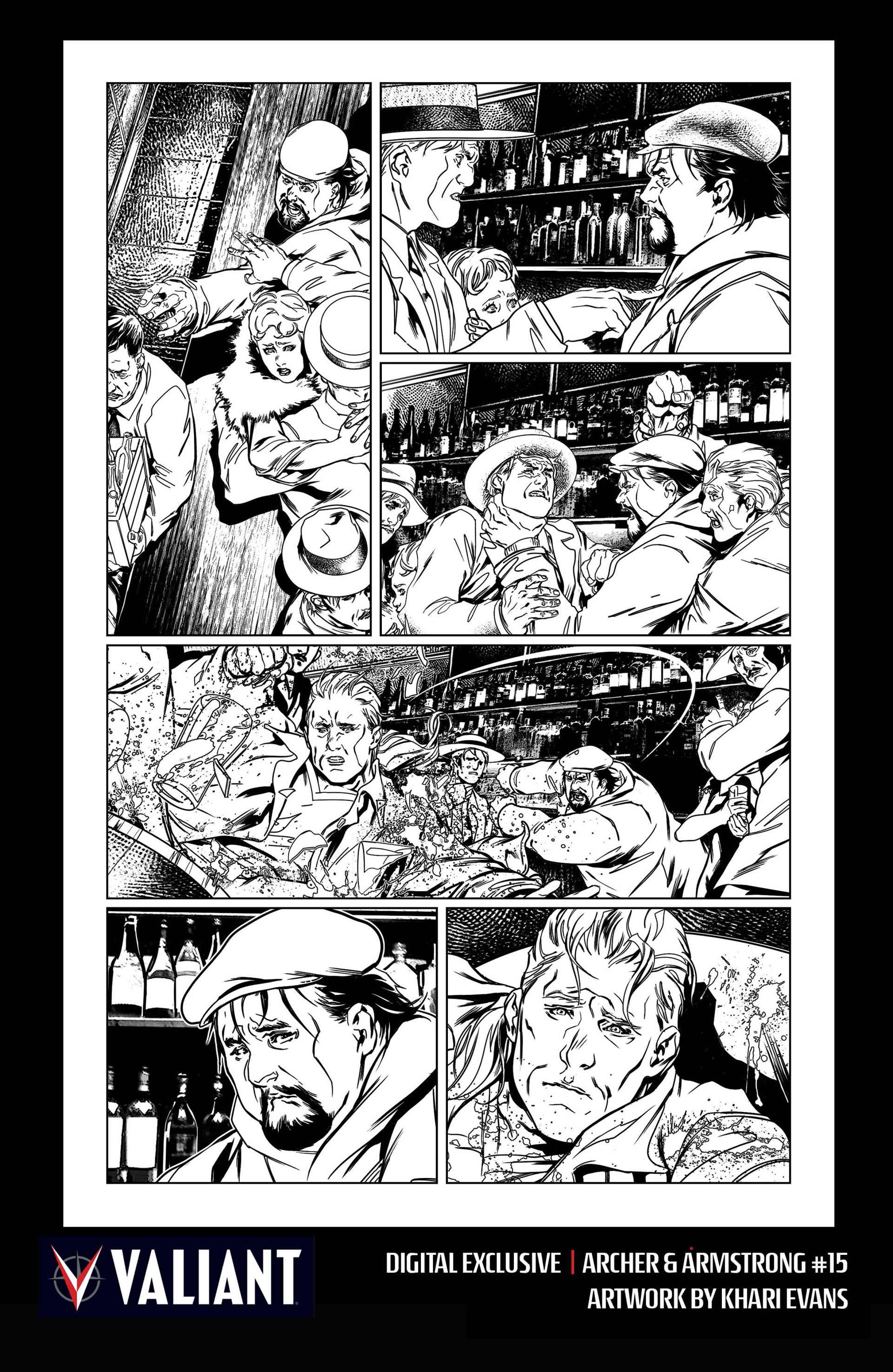 Read online Archer and Armstrong comic -  Issue #15 - 37